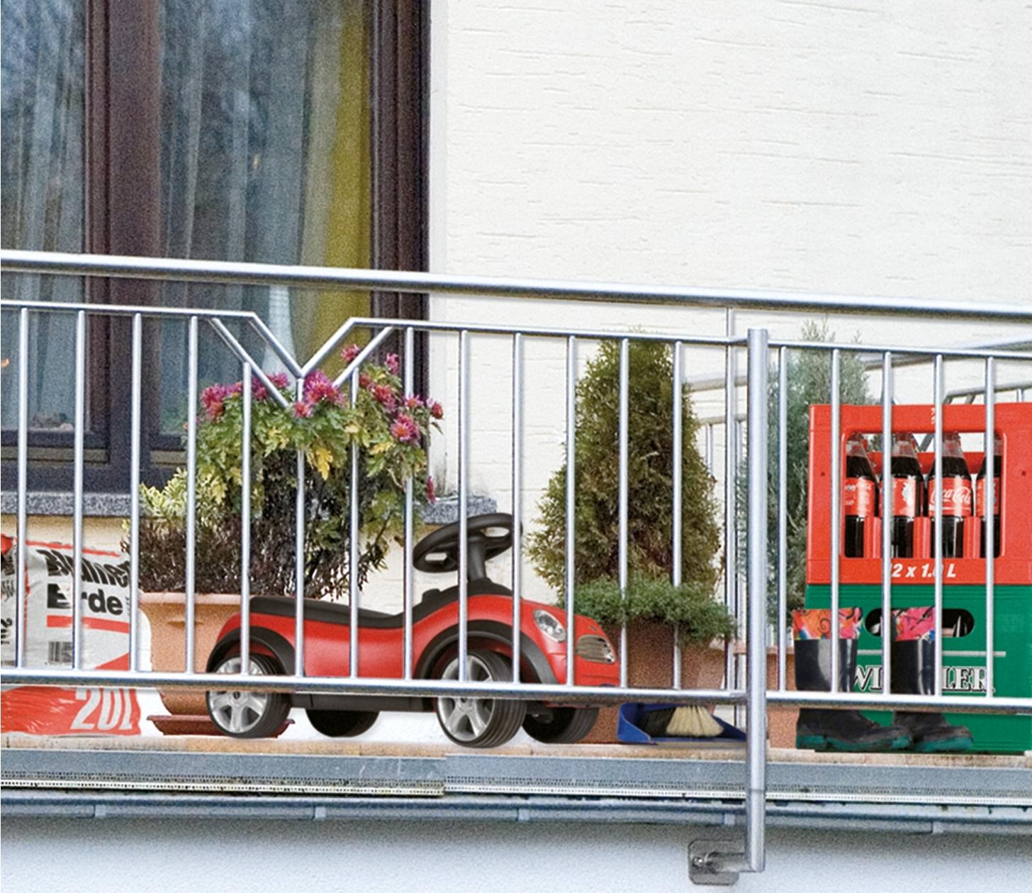 Sichtschutz Befestigung Auf Mauer : wenko sichtschutz mauer f r balkon und terrasse ~ Watch28wear.com Haus und Dekorationen