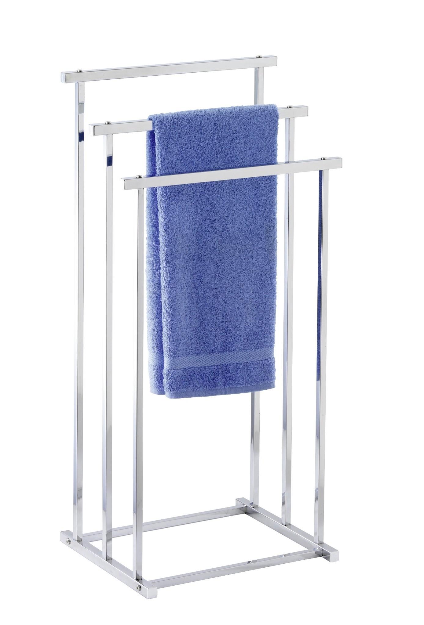 Handtuchbutler Quadro mit 3 Stangen, Kleiderbutler