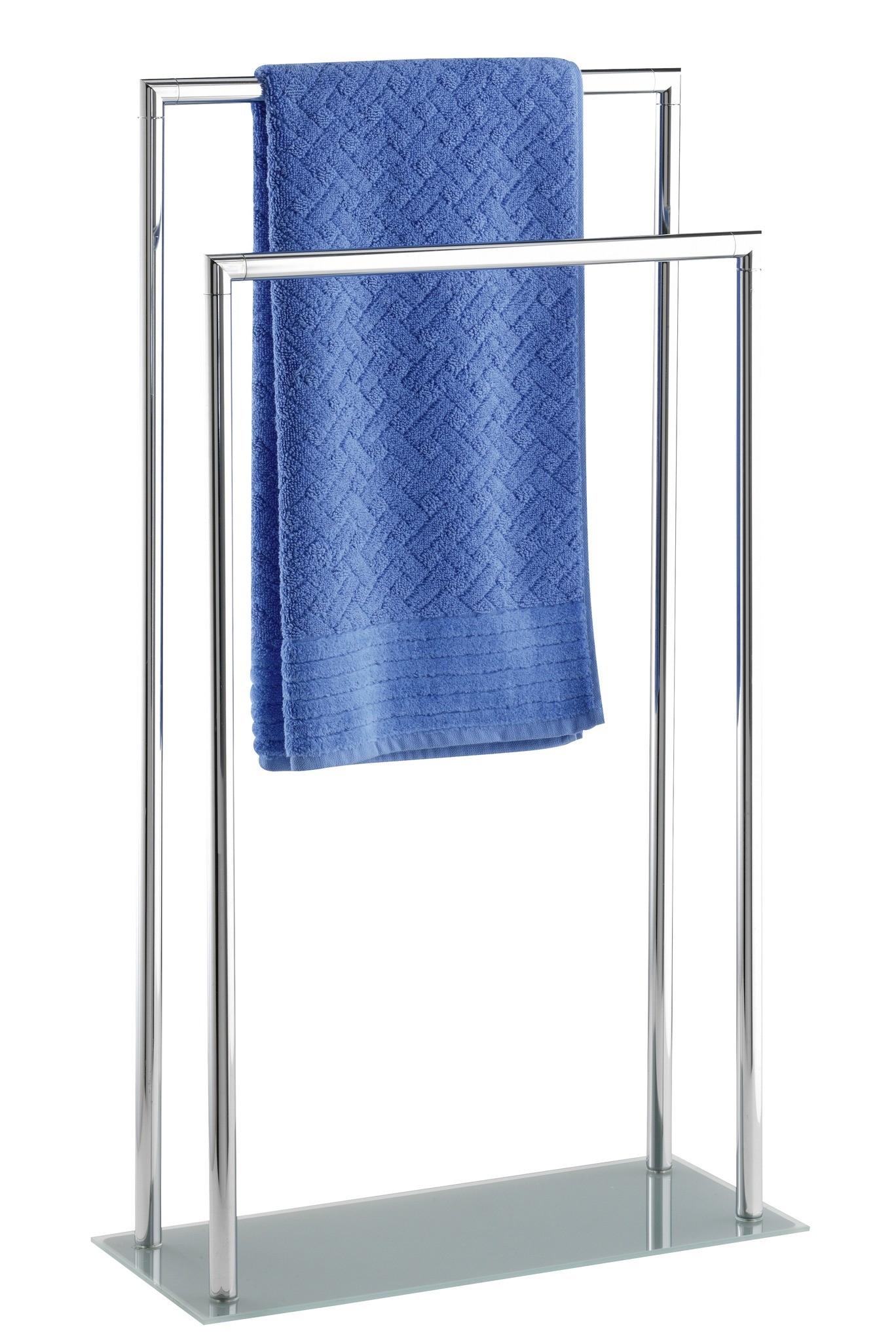 Wenko Handtuchständer Style mit 2 Stangen, Kleiderständer