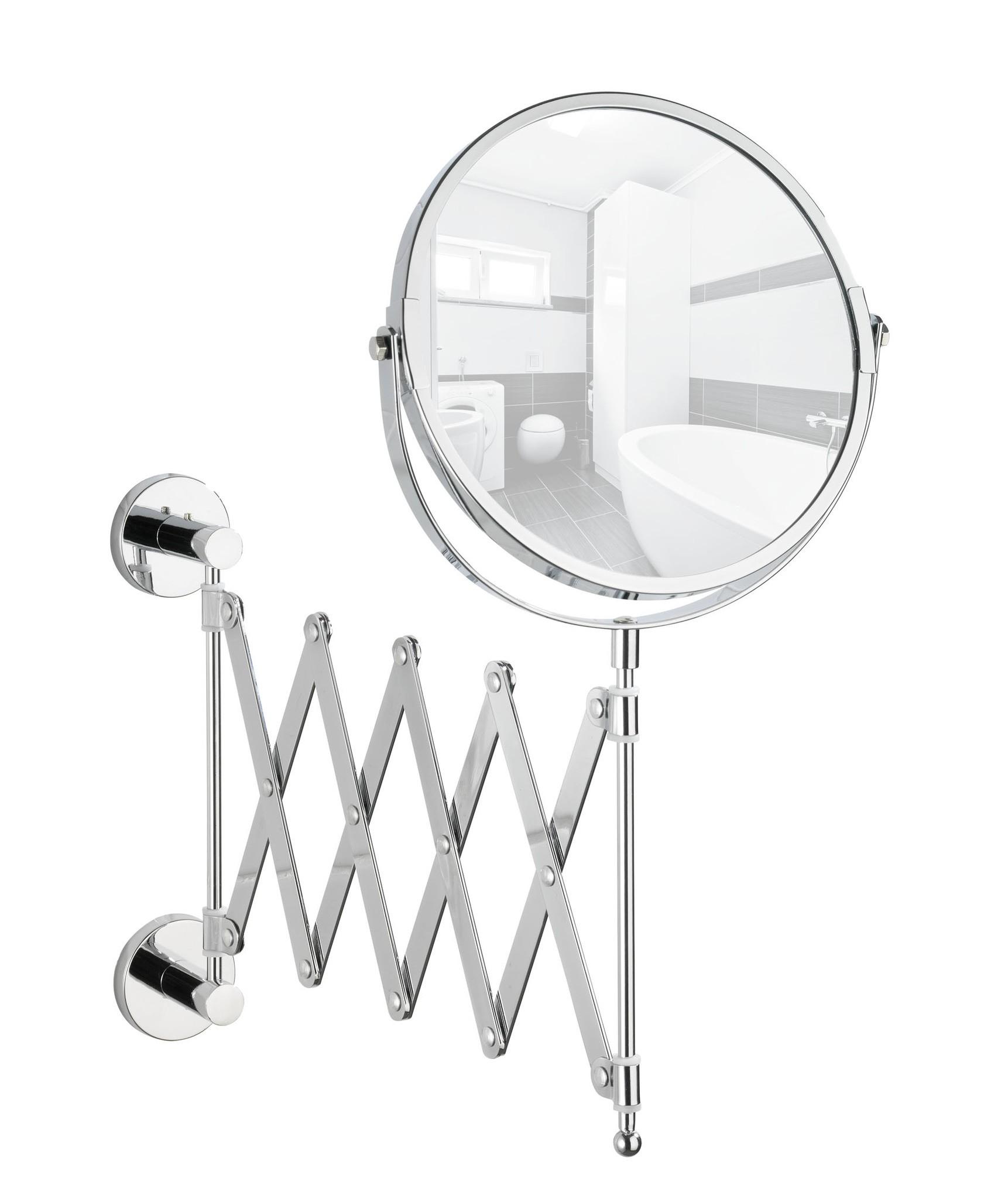 Power-Loc Teleskop Kosmetikspiegel Elegance, Befestigen ohne bohren