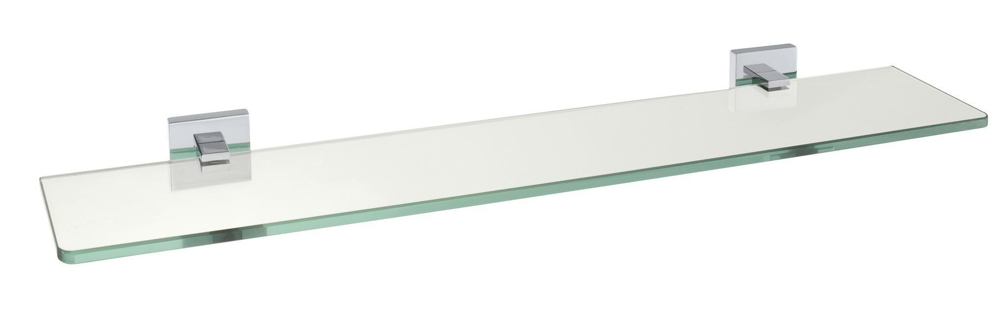 Power-Loc Glas Wandablage San Remo, Befestigen ohne bohren