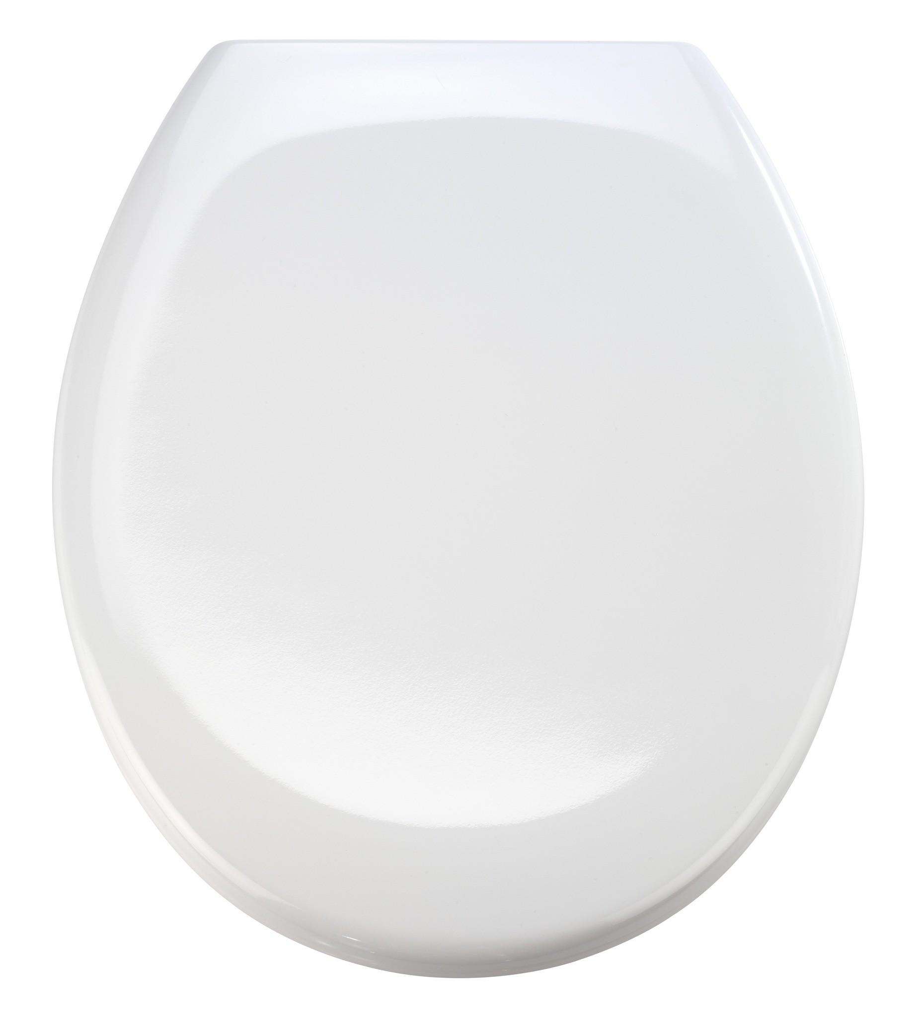 Wenko Premium WC-Sitz Ottana Weiß, mit Absenkautomatik