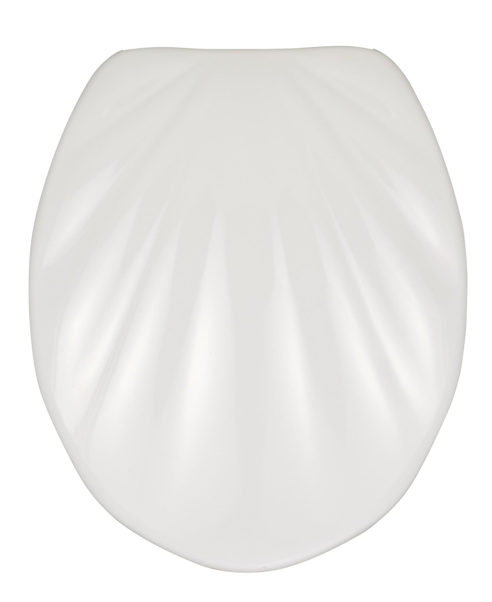 Premium WC-Sitz Muschel, mit Absenkautomatik