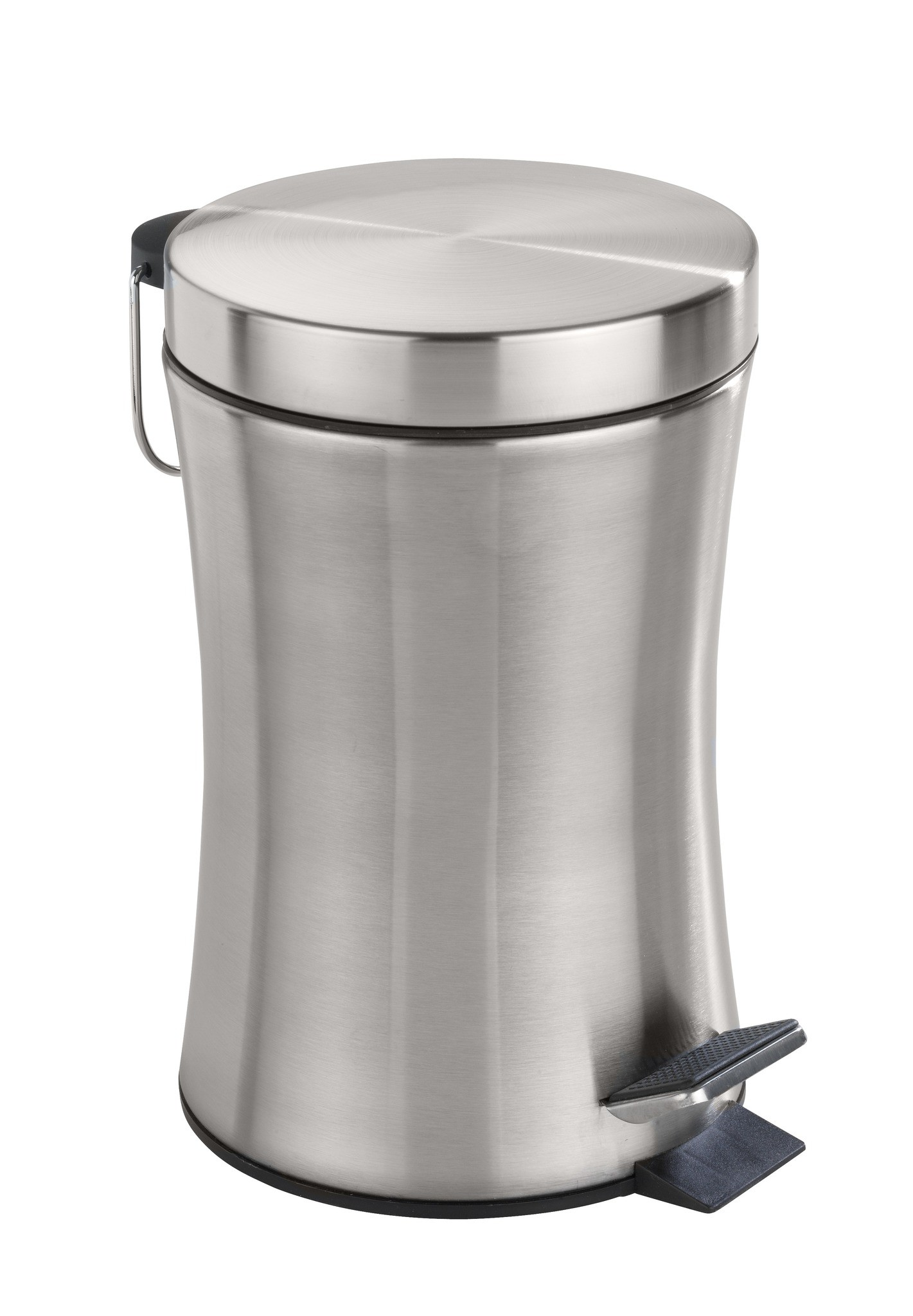 Kosmetik-Treteimer Pieno, 3 Liter, Edelstahl rostfrei