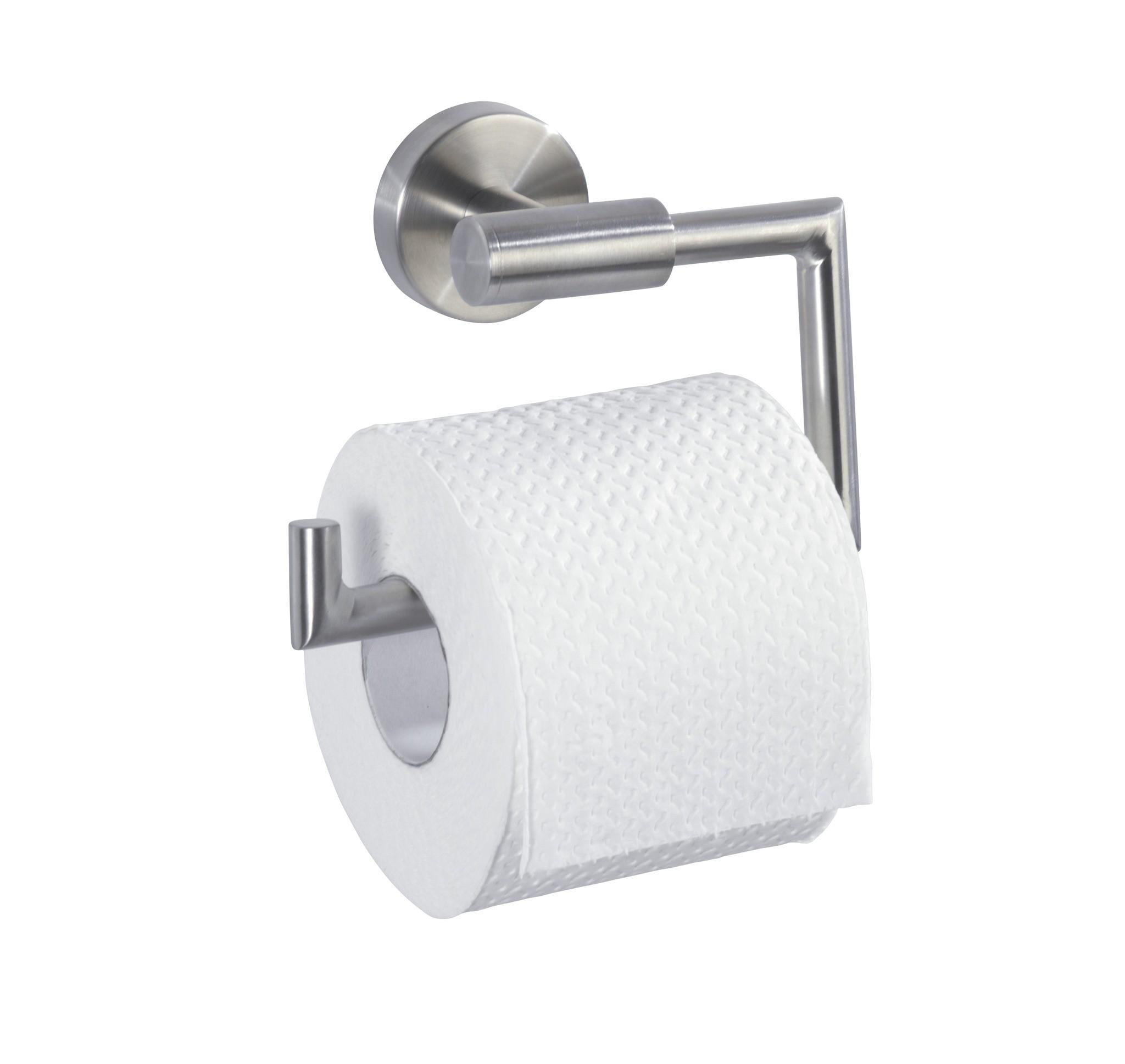Toilettenpapierhalter ohne Deckel Bosio, Edelstahl rostfrei