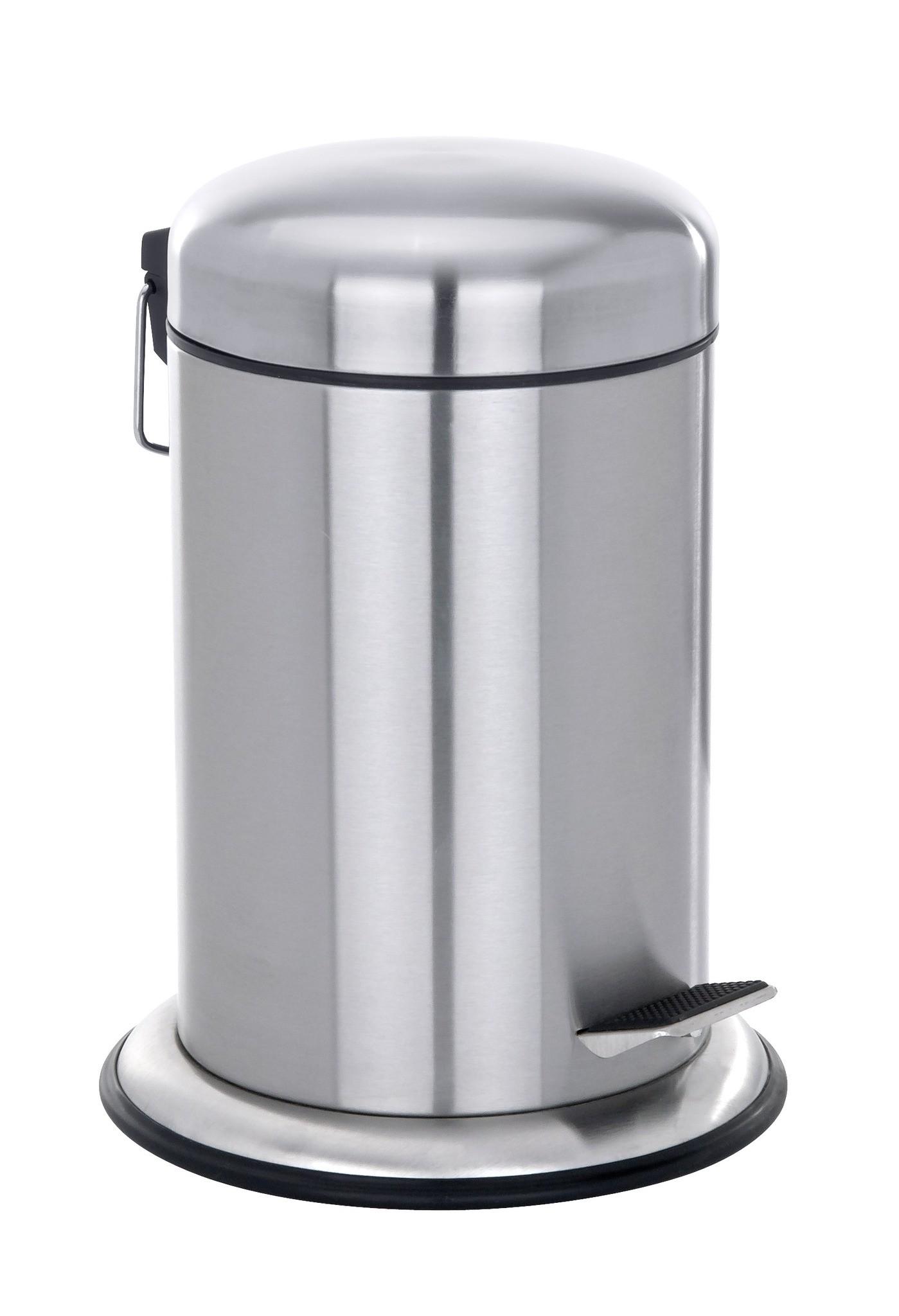 Treteimer Nova, Edelstahl rostfrei, 3 Liter