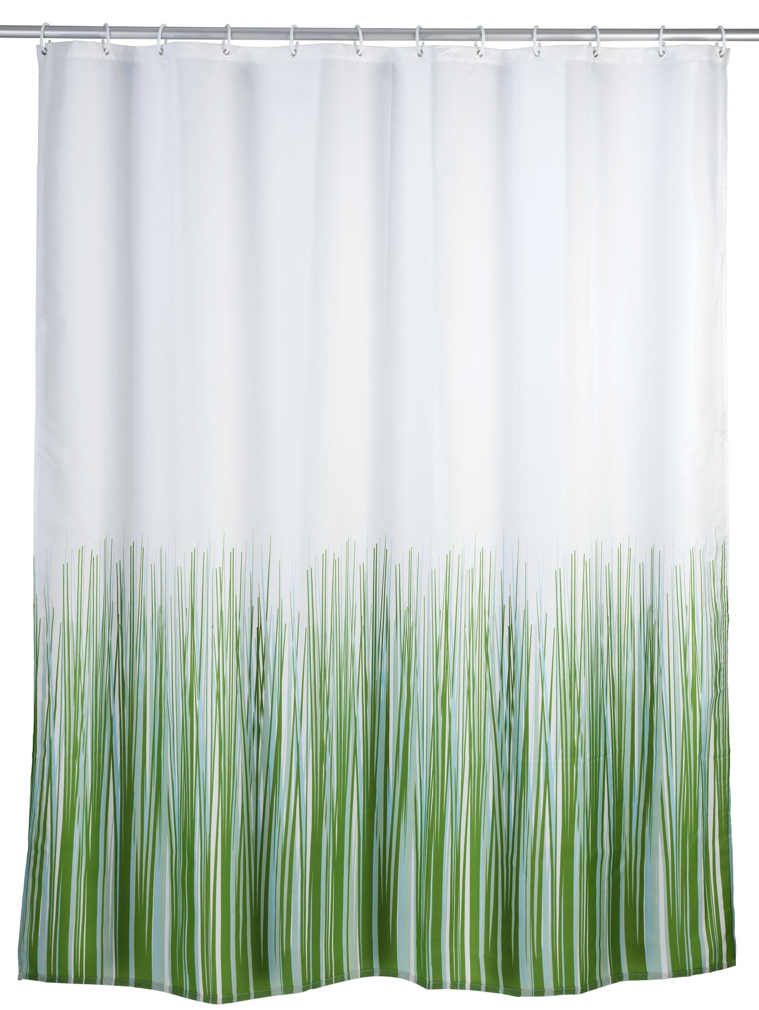 Wenko Anti-Schimmel Duschvorhang Nature, 180 x 200 cm, waschbar