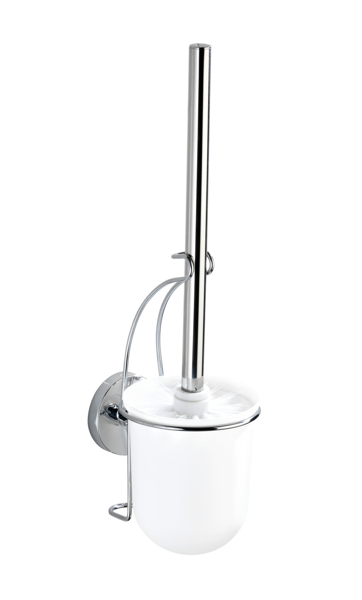 vacuum loc wand wc garnitur milazzo befestigen ohne bohren von wenko jetzt kaufen bei wc. Black Bedroom Furniture Sets. Home Design Ideas