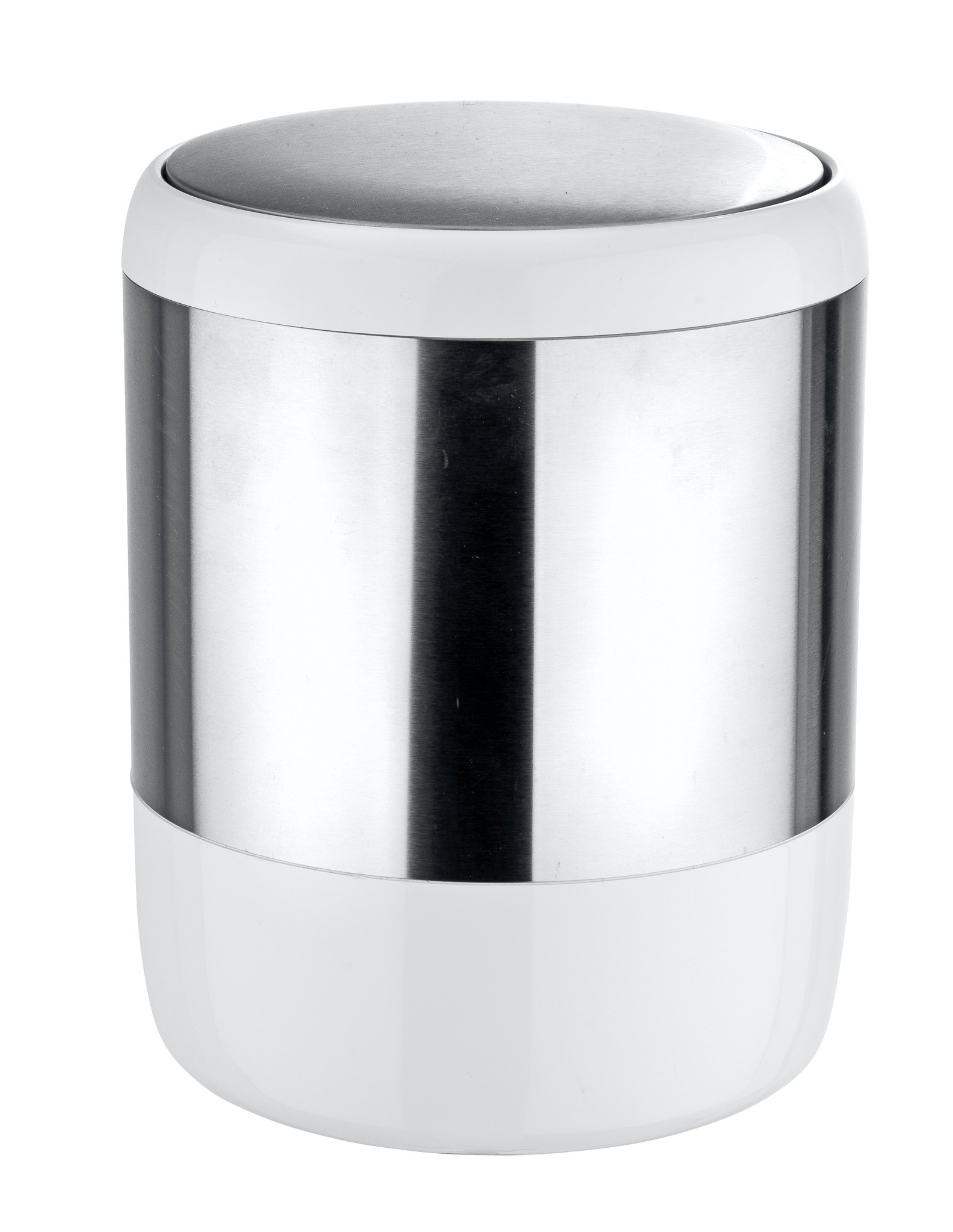 Wenko Kosmetikeimer Loft, 6 Liter, mit Schwingdeckel