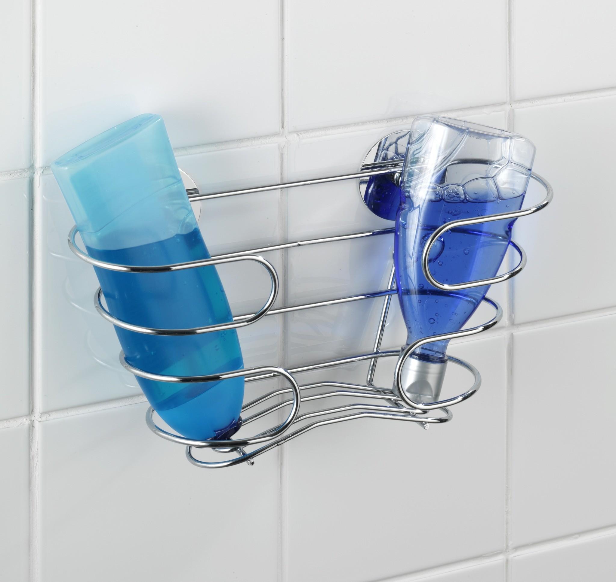 Wenko Turbo-Loc Shampoo-Ablage, Befestigen ohne bohren