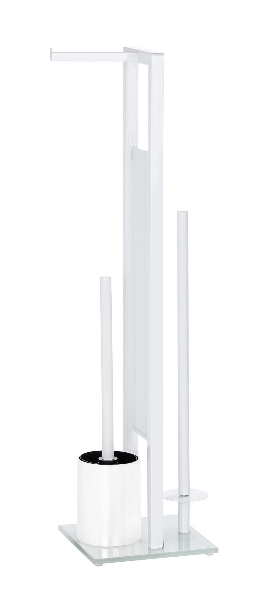 Wenko Stand WC-Garnitur Rivalta Weiß
