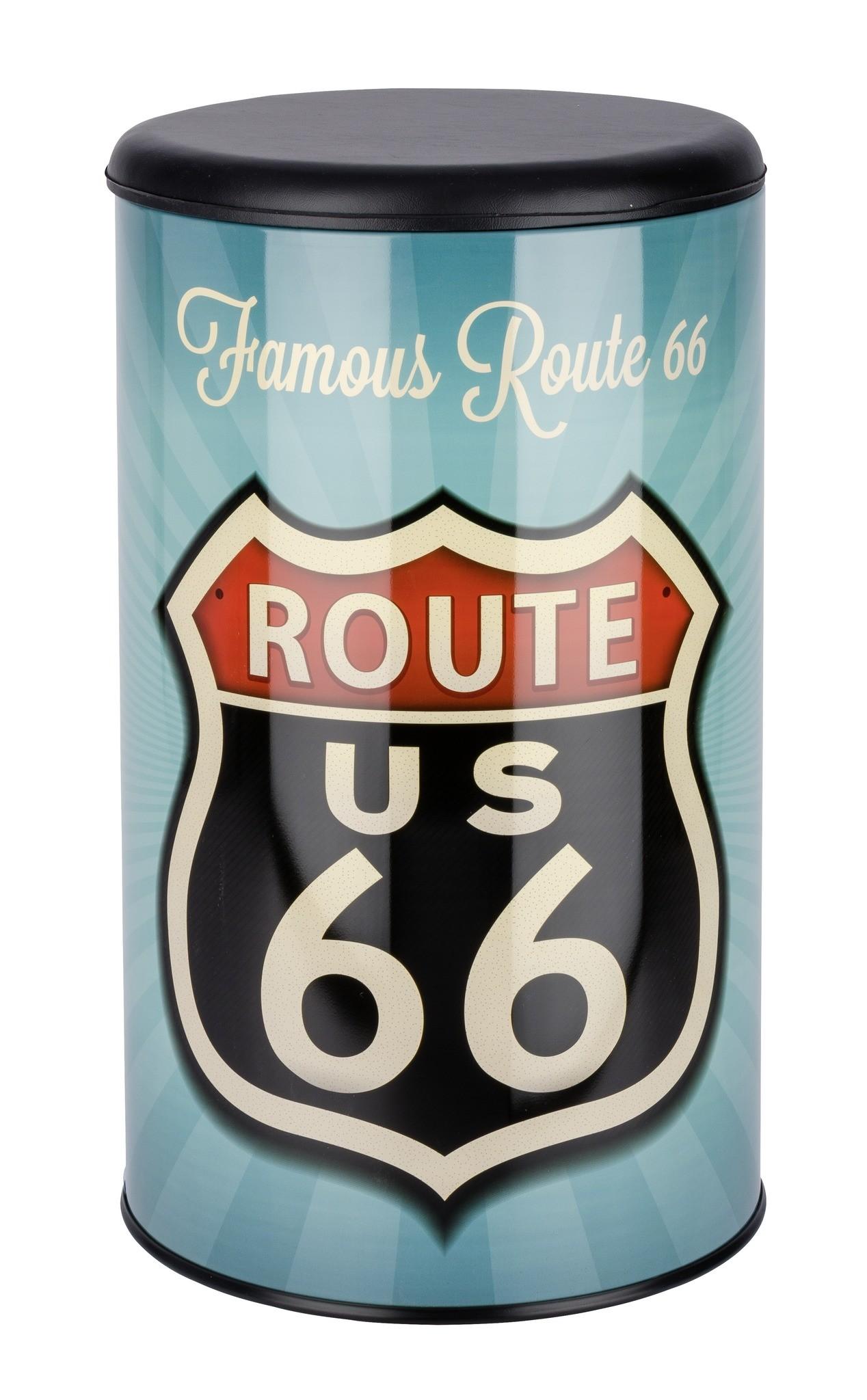 Wäschetruhe Vintage Route 66, Badhocker