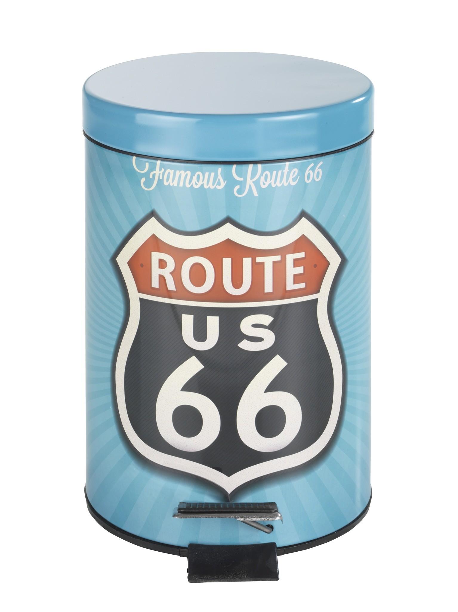 Kosmetik Treteimer Vintage Route 66, 3 Liter