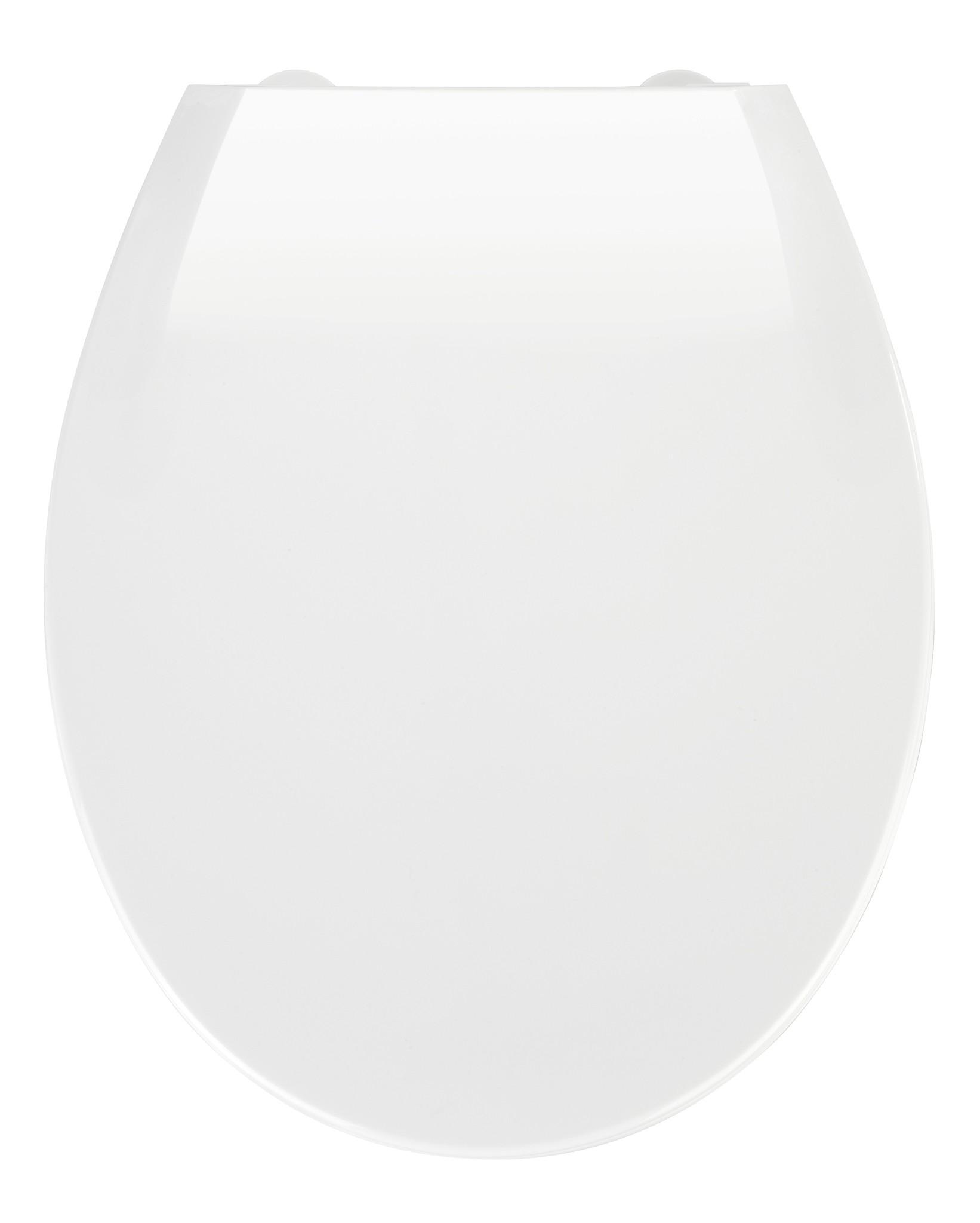 Wenko Premium WC-Sitz Kos Weiß, mit Absenkautomatik
