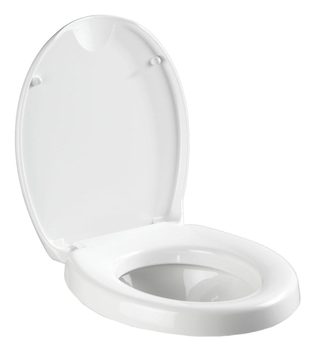 Wenko WC-Sitz Secura Comfort, mit Sitzflächenerhöhung