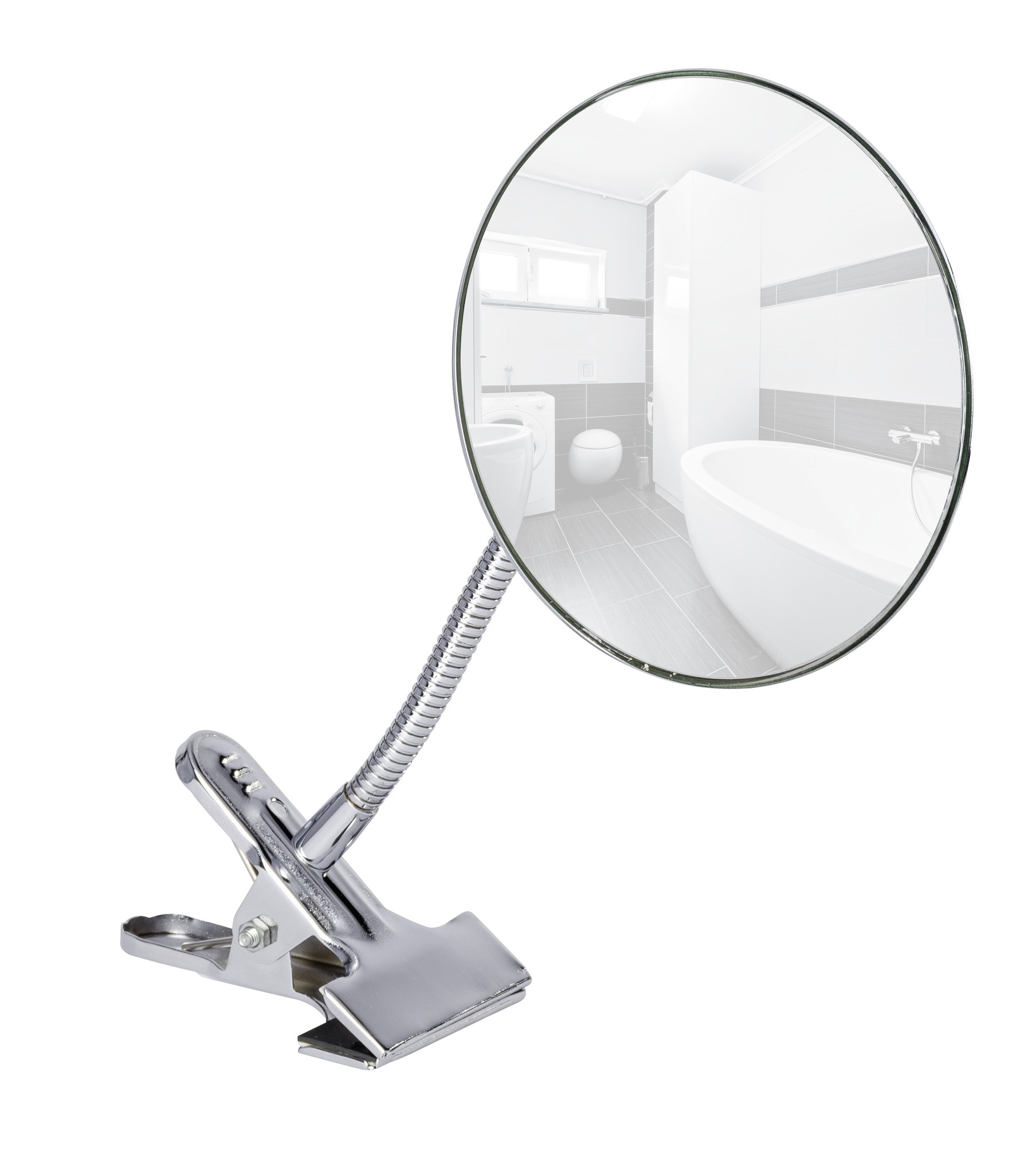 Kosmetikspiegel Clip, 5-fach Vergrößerung