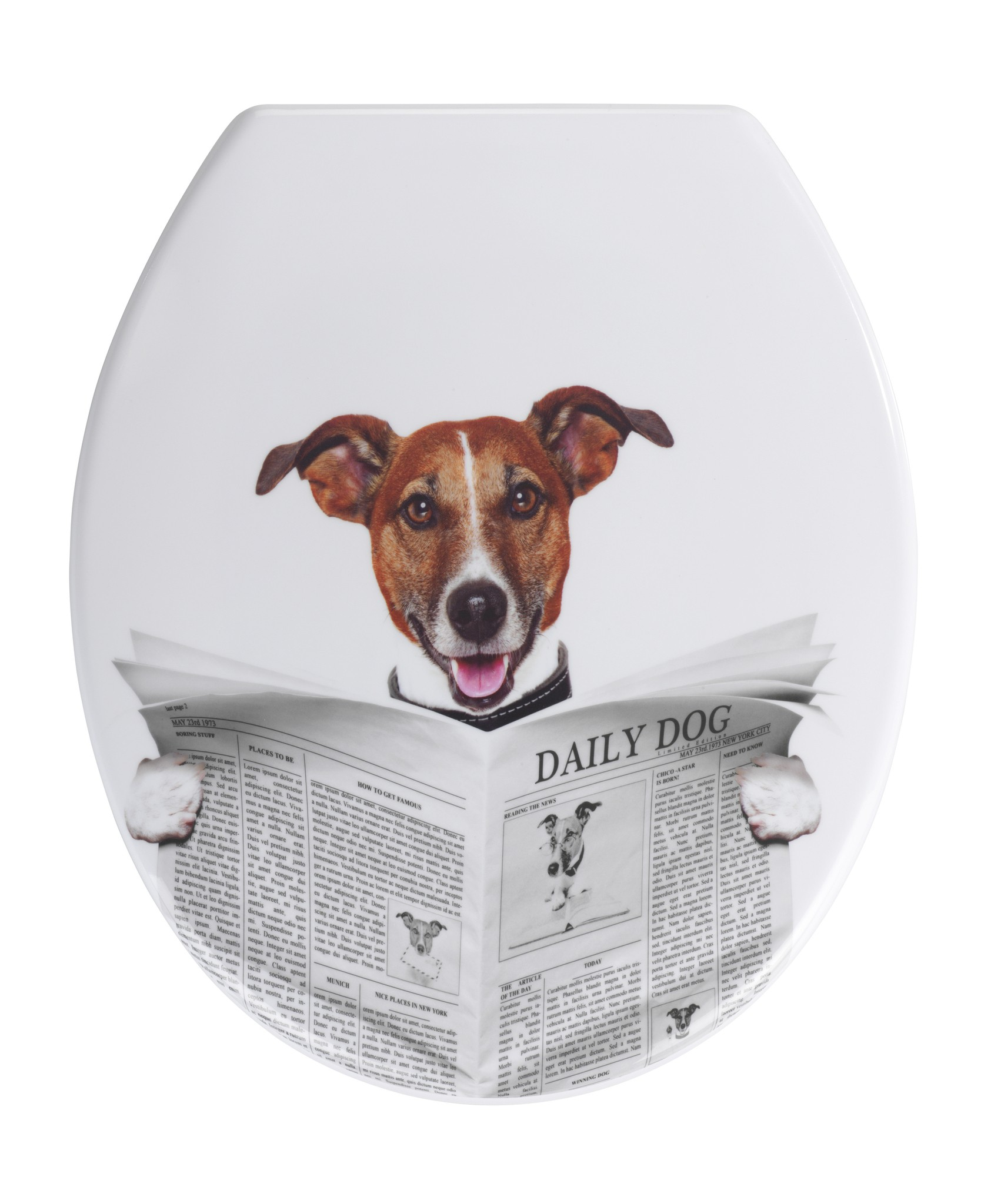 Wenko WC-Sitz Daily Dog, Duroplast