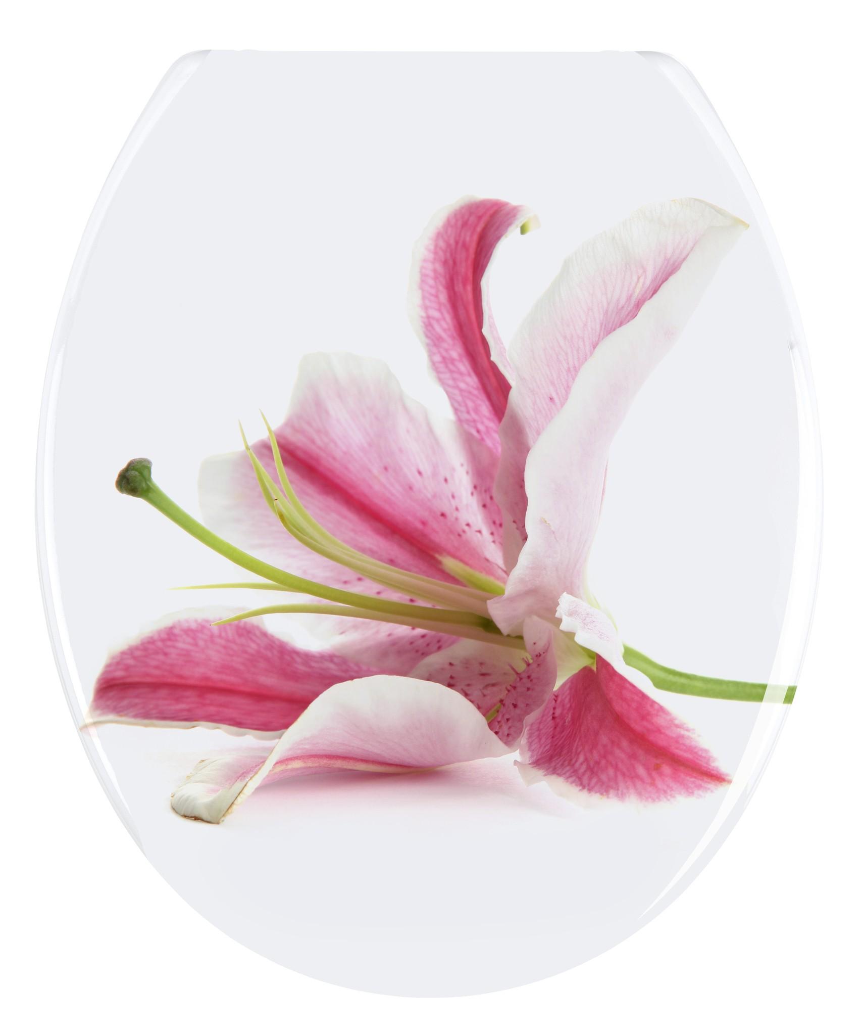 WC-Sitz Orchid, Duroplast