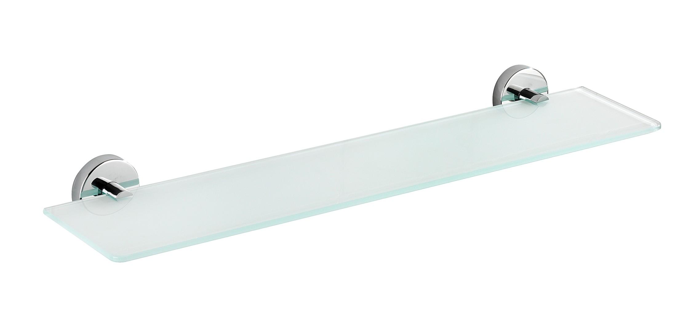 Wenko Vacuum-Loc® Glas Wandablage Capri, Befestigen ohne bohren