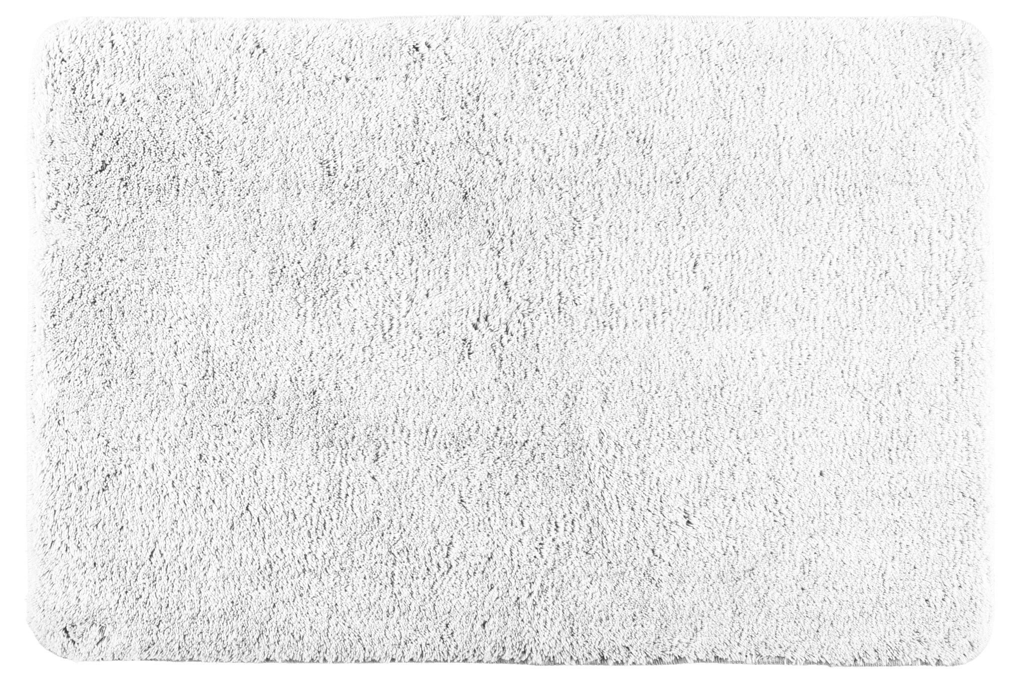Badteppich Poly White, 60 x 90 cm