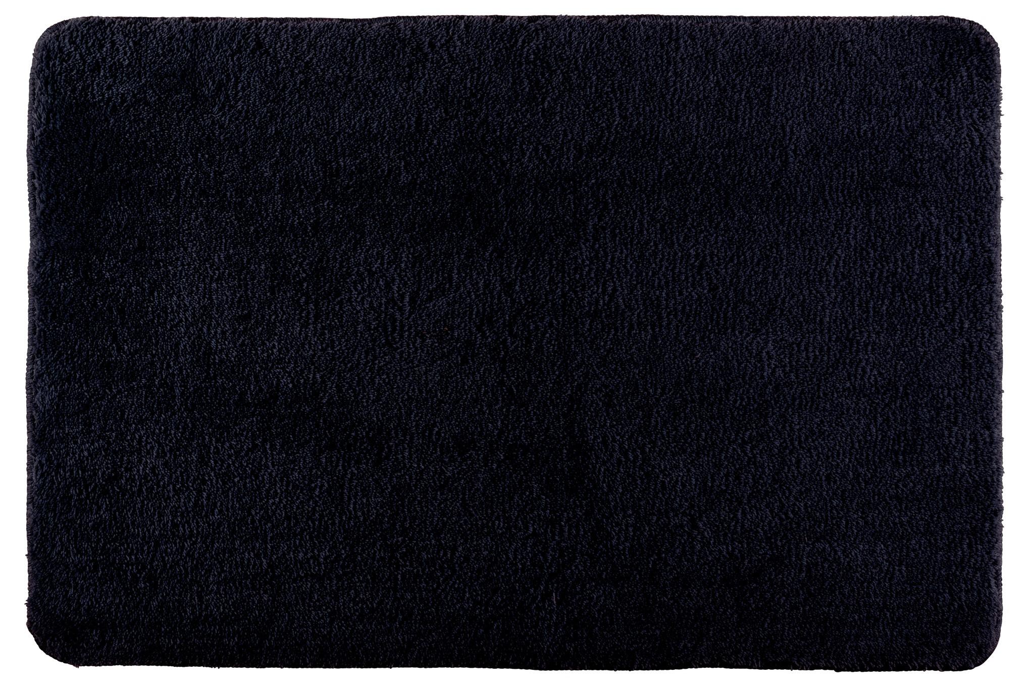 Badteppich Poly Black, 60 x 90 cm