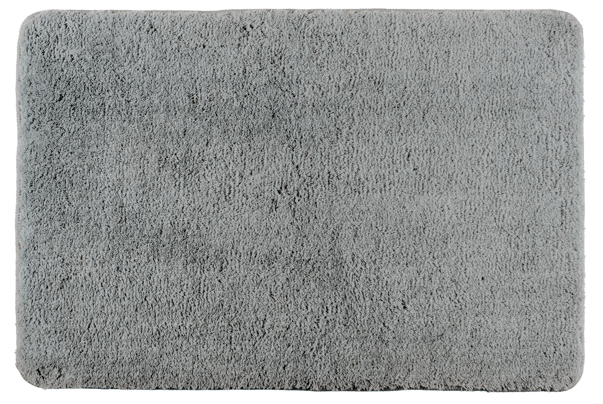 Badteppich Poly Grey, 60 x 90 cm