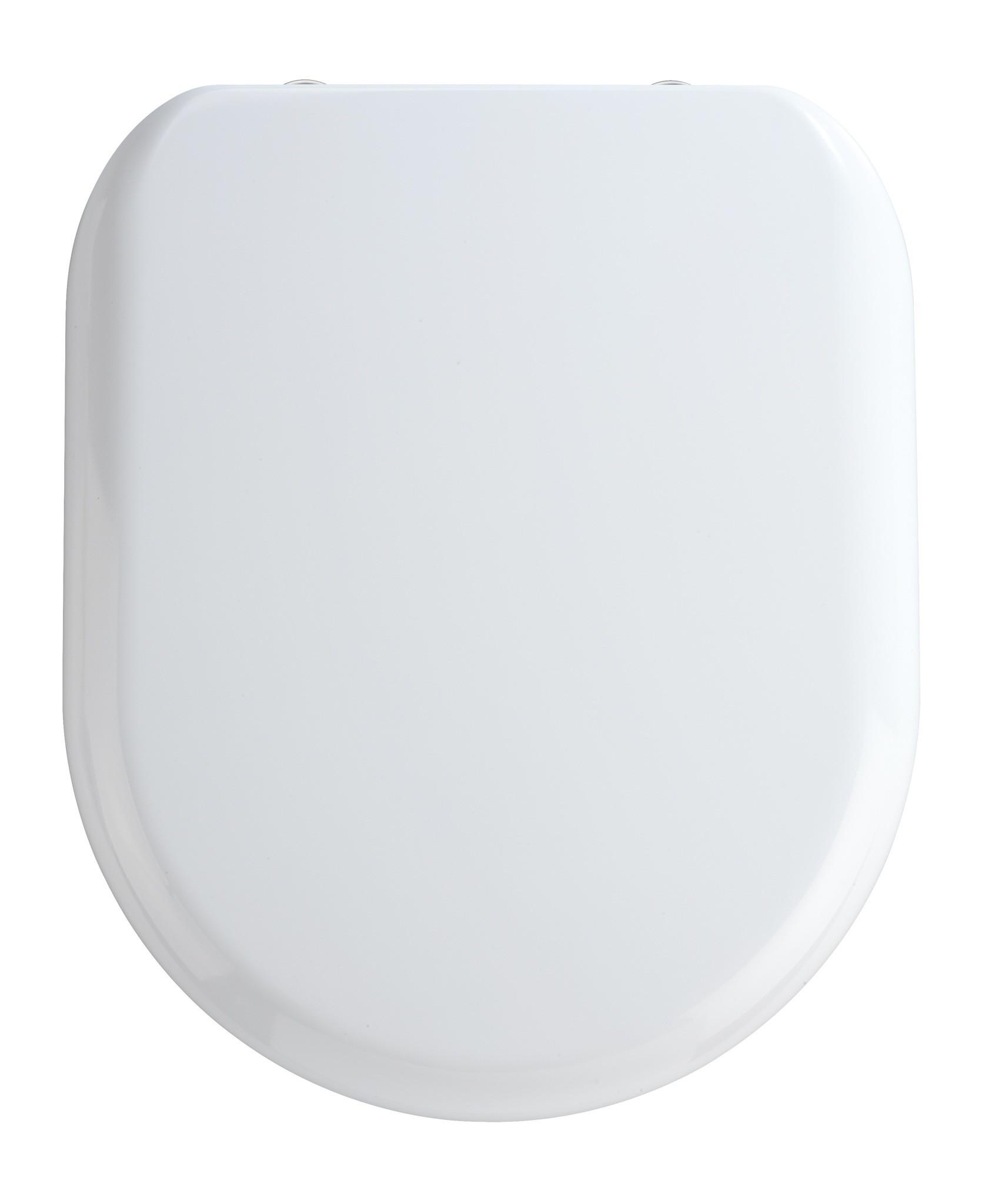 Wenko Premium WC-Sitz Santana, Duroplast weiß, mit Absenkautomatik