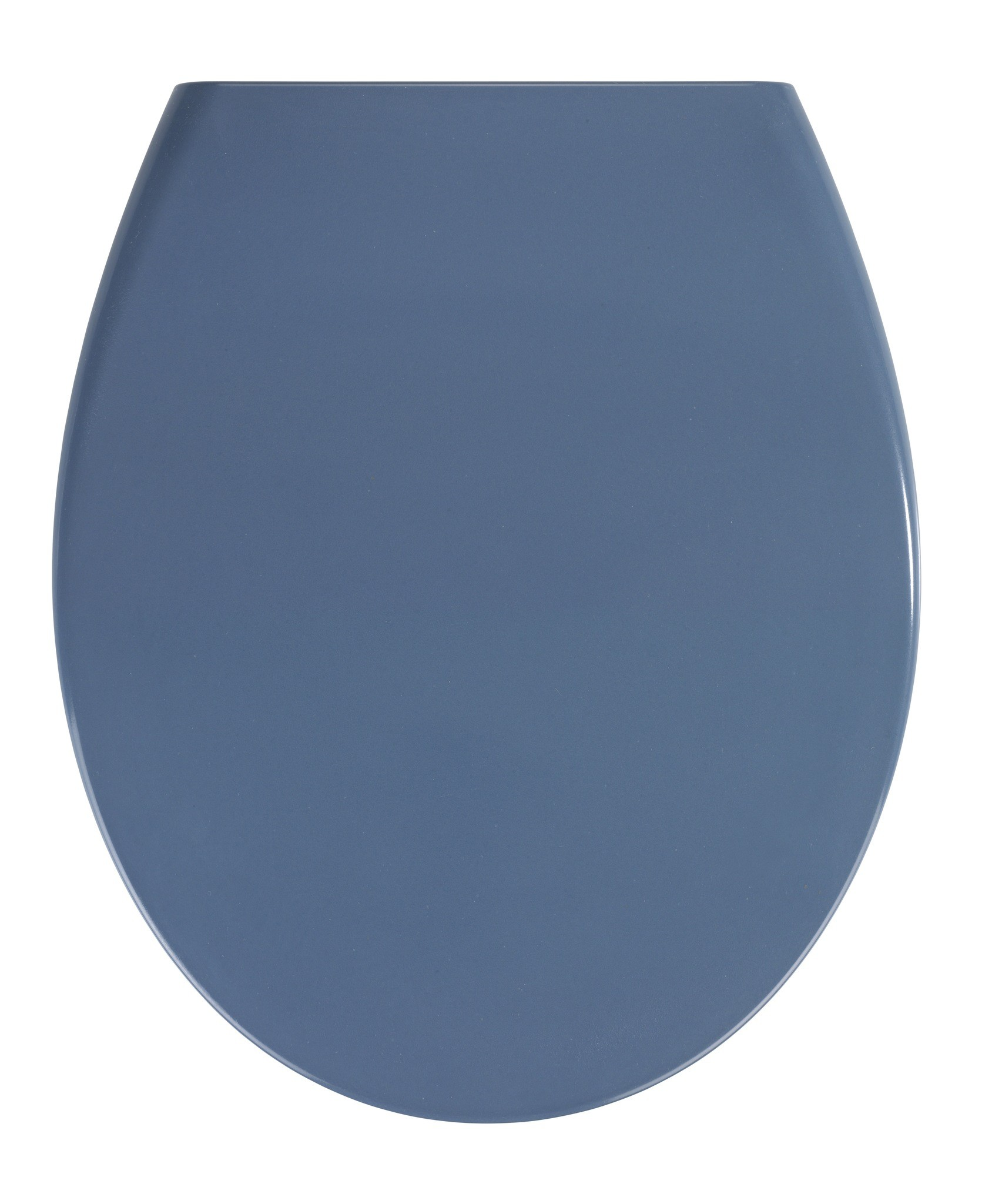 Premium WC-Sitz Samos Slate Blue, Duroplast, mit Absenkautomatik