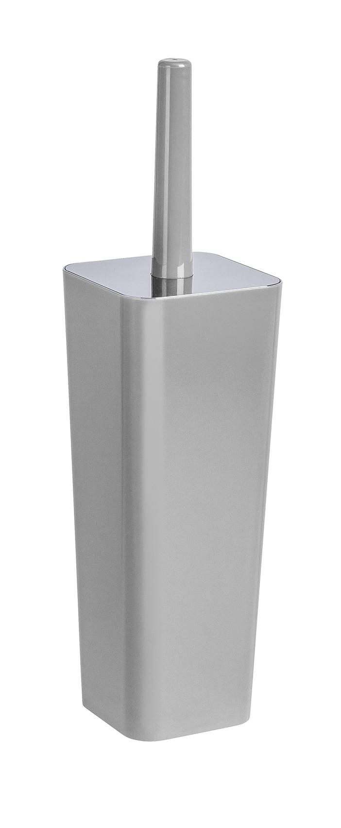 Wenko WC-Garnitur Candy Grey, geschlossene Form