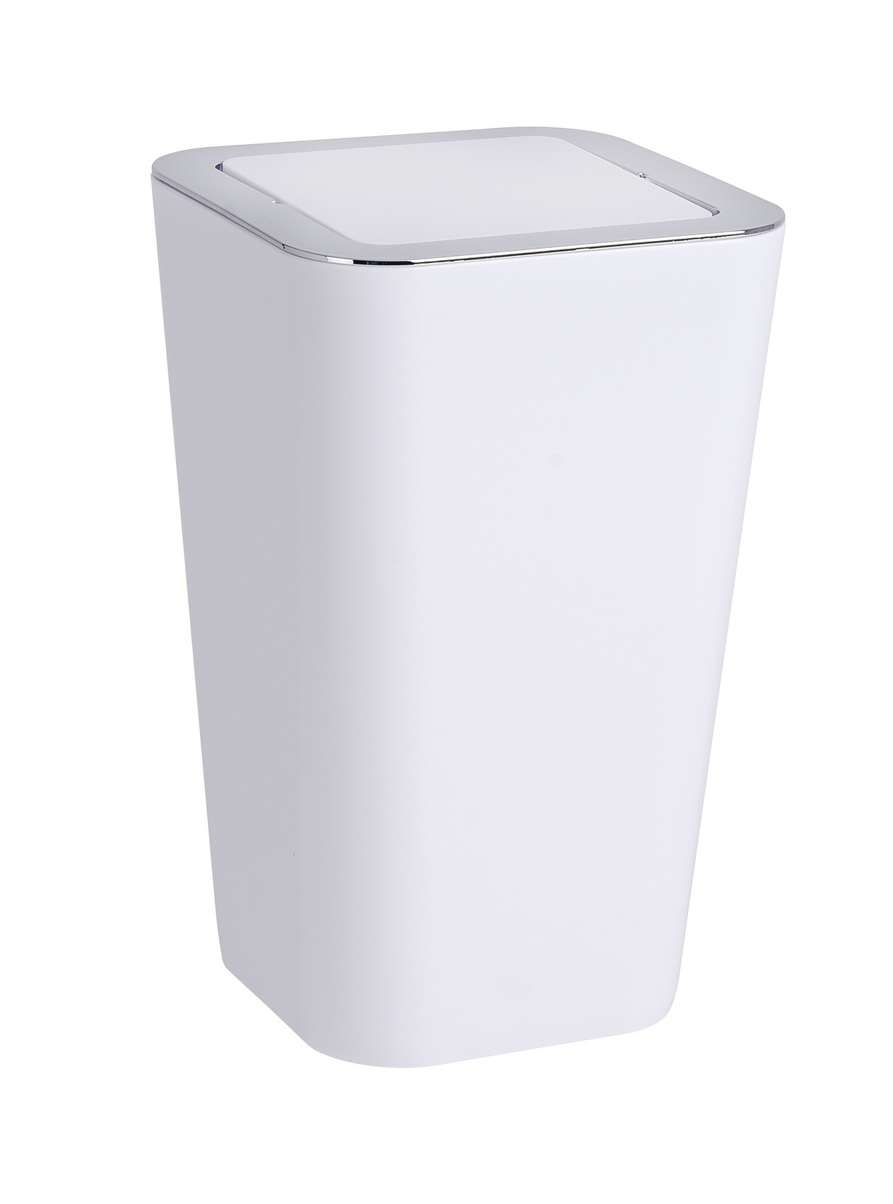 Wenko Schwingdeckeleimer Candy White, 6 Liter