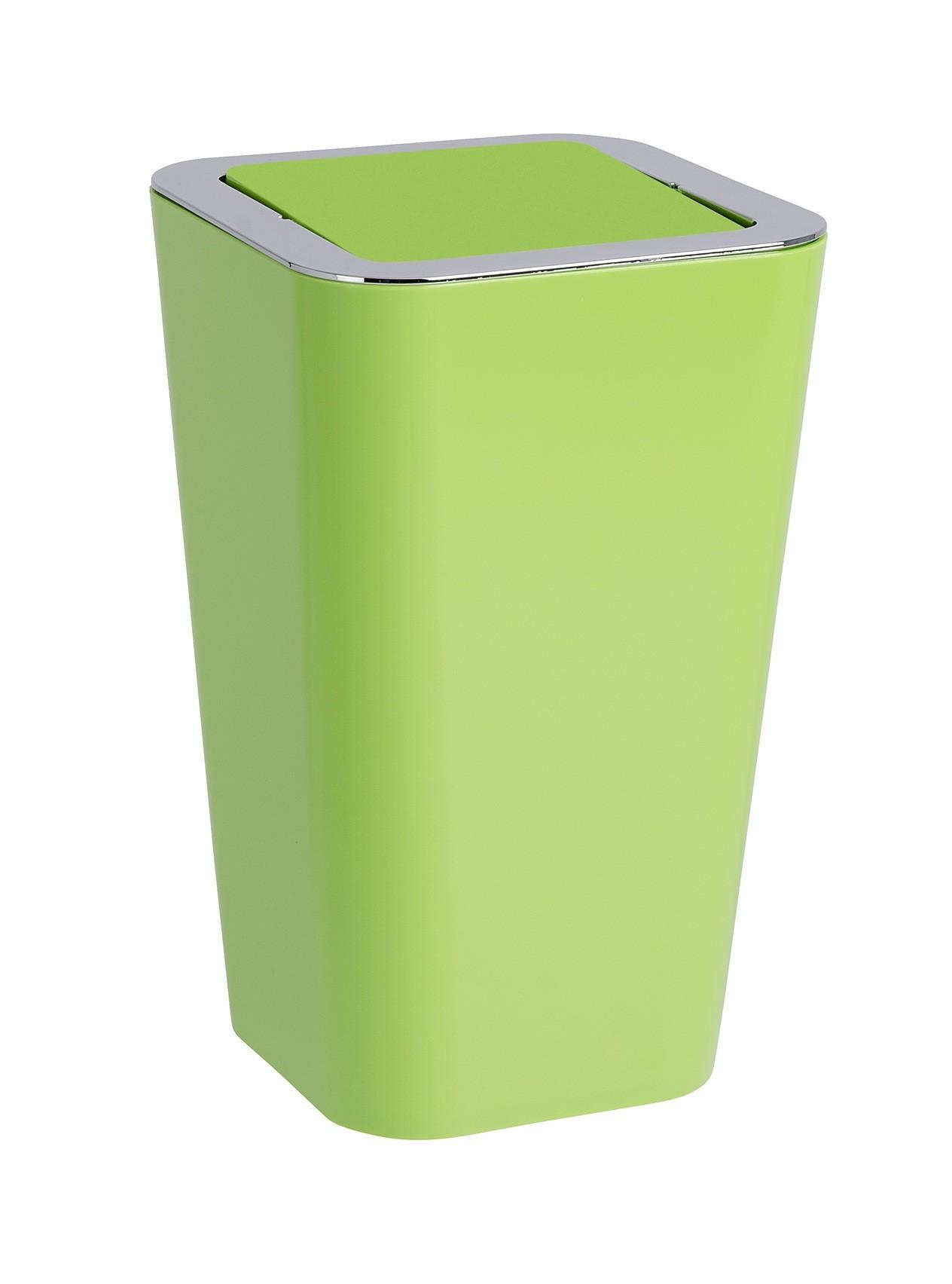 Wenko Schwingdeckeleimer Candy Green, 6 Liter