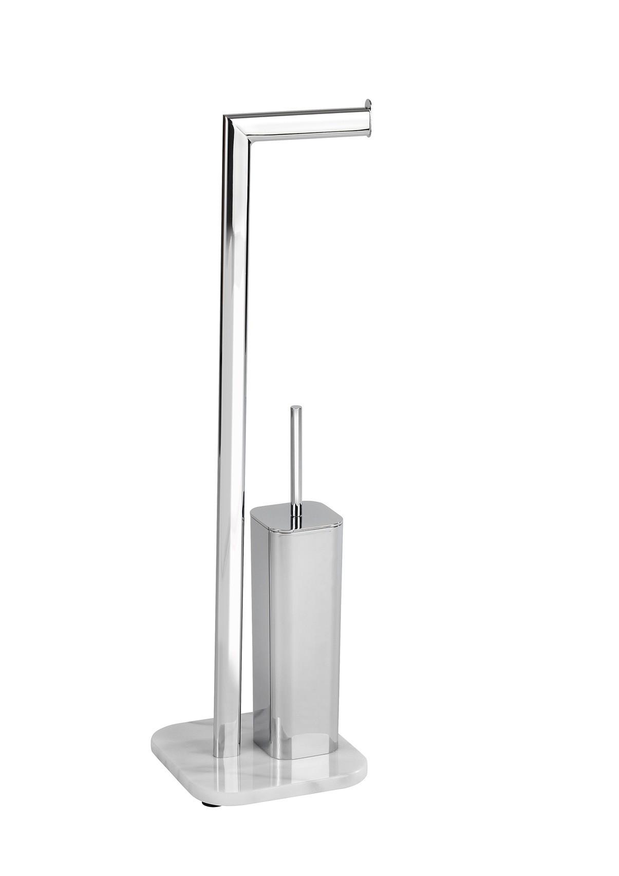 Wenko Stand WC-Garnitur Onyx, Marmor