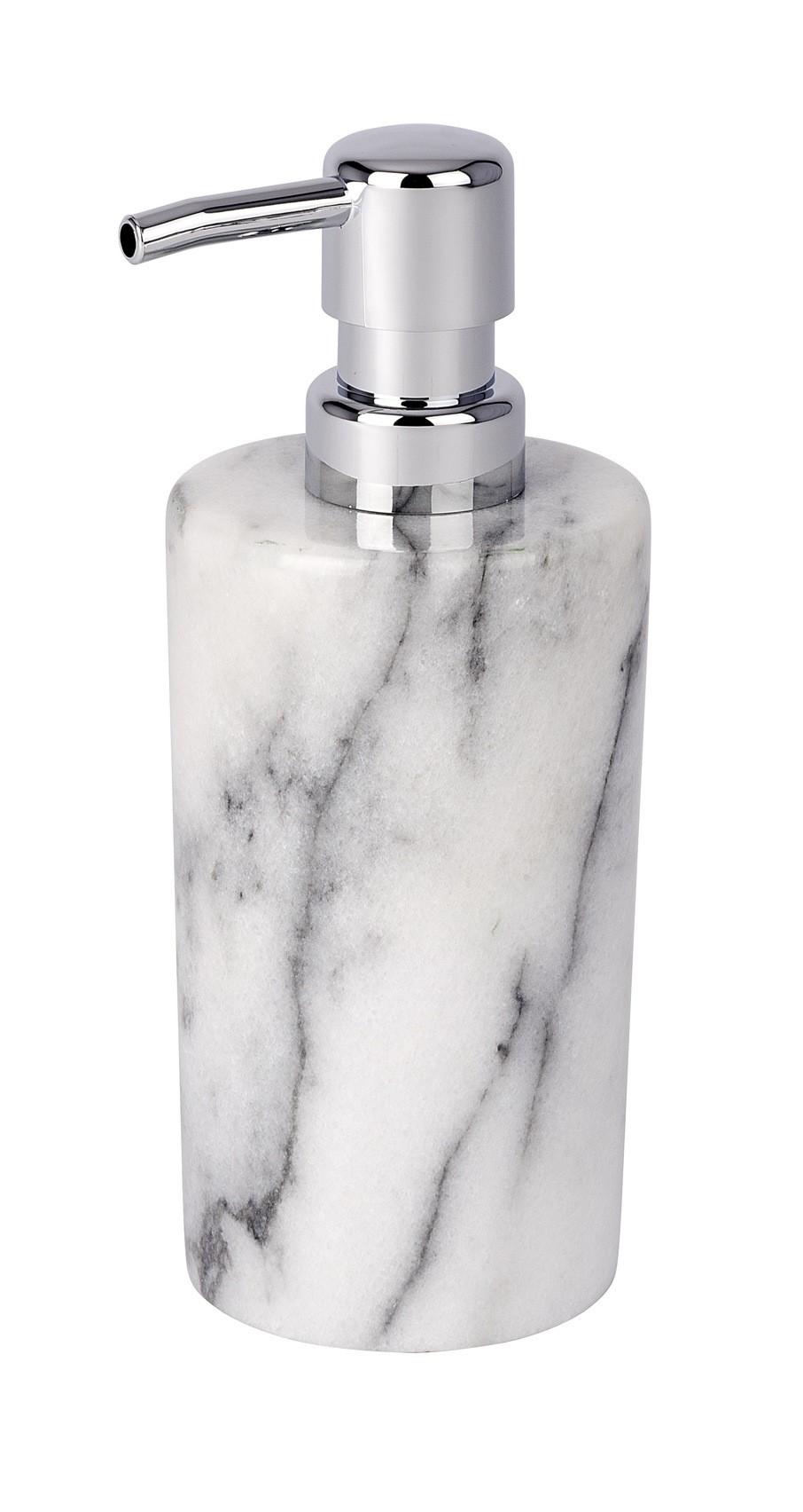 Wenko Seifenspender Onyx, Marmor, 230 ml