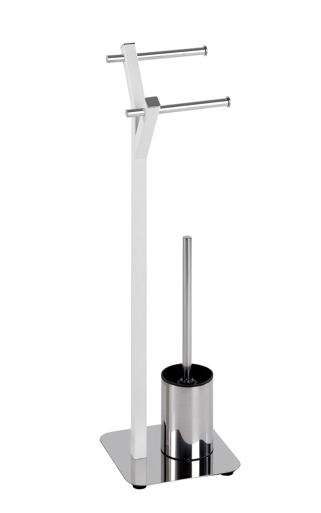 Wenko Stand WC-Garnitur Albero Weiß