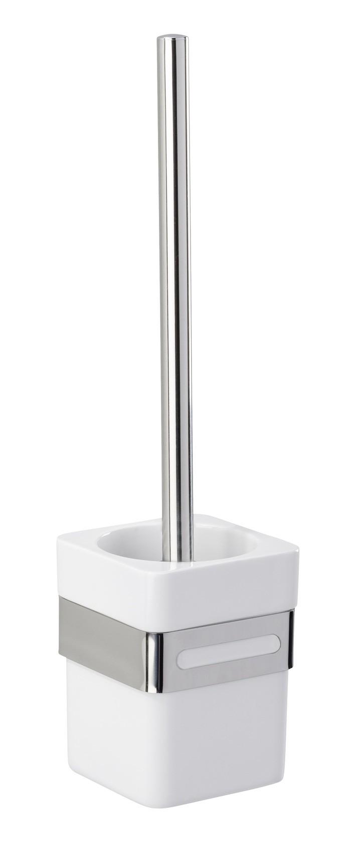 Wenko WC-Garnitur Premium Plus, Edelstahl