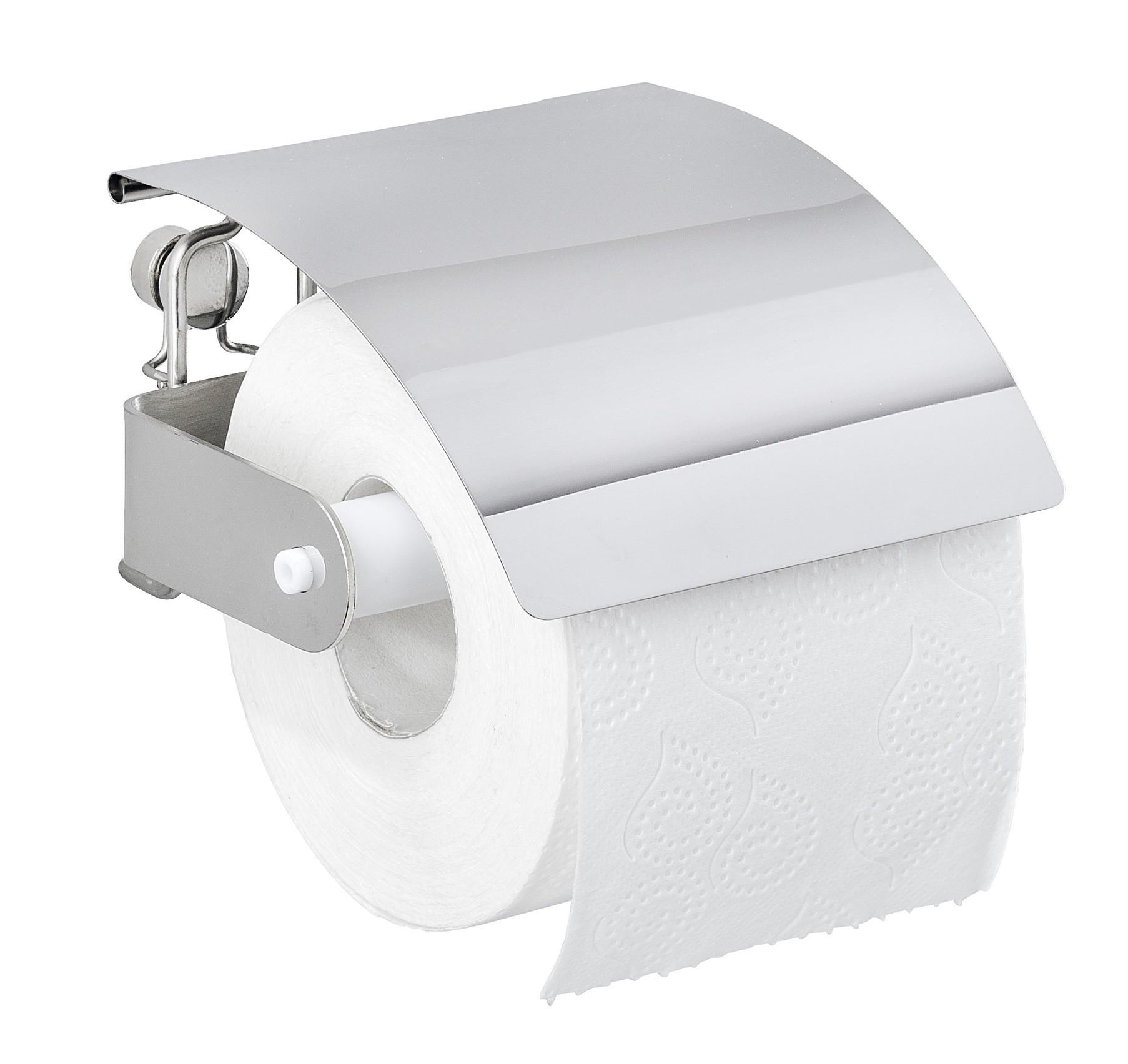 Wenko Toilettenpapierhalter Premium Plus, Edelstahl