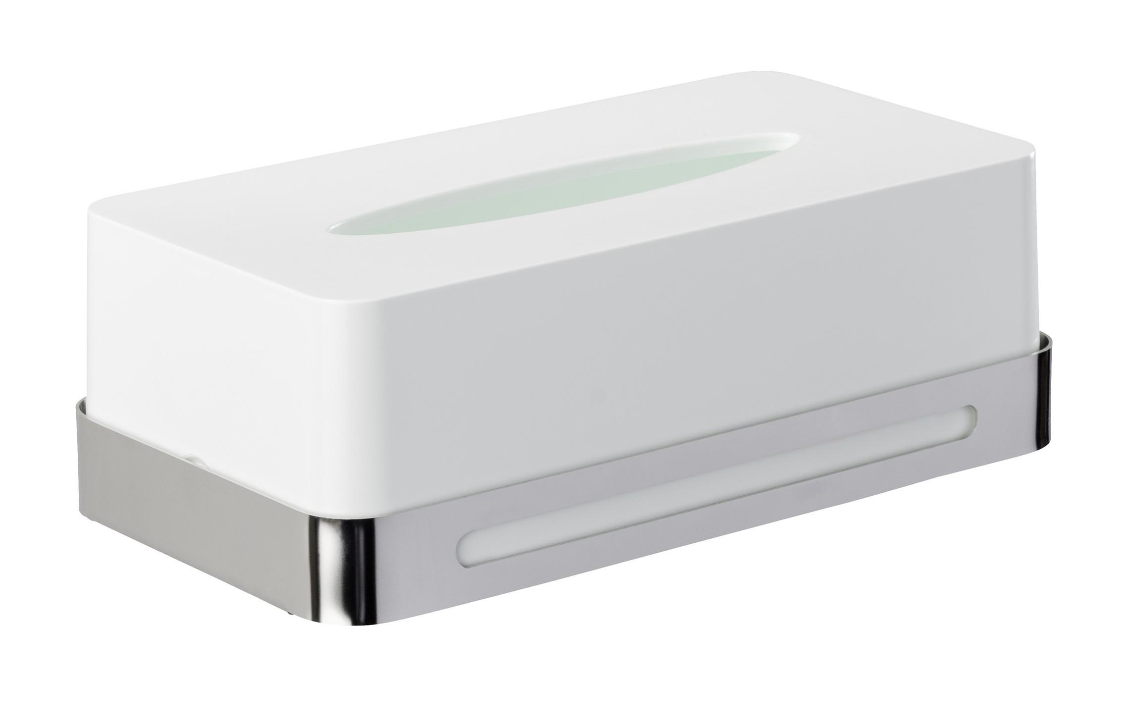 Wenko Kosmetiktuch-Box Premium Plus, Edelstahl