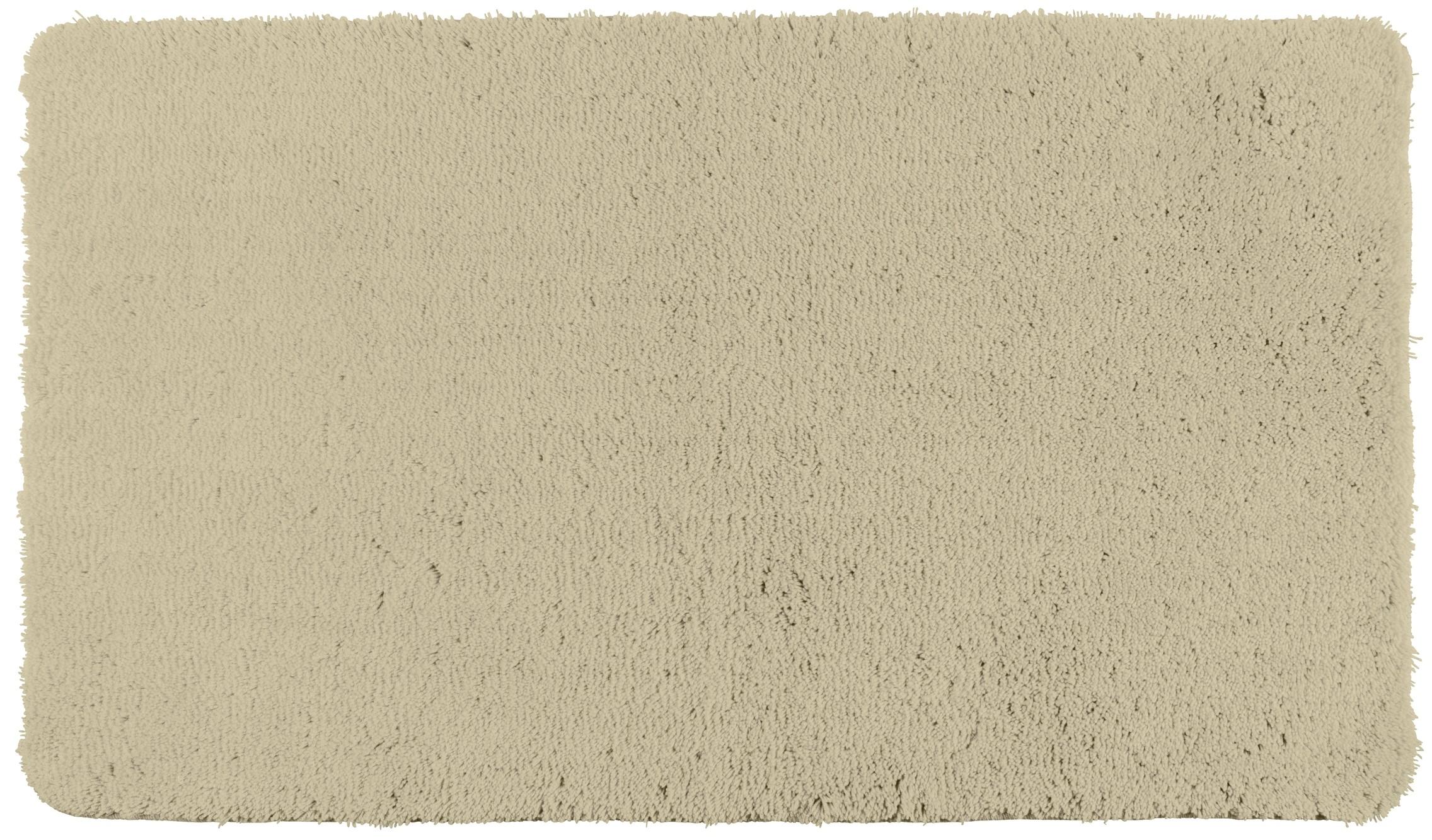Wenko Badteppich Belize Sand, 60 x 90 cm, Mikrofaser
