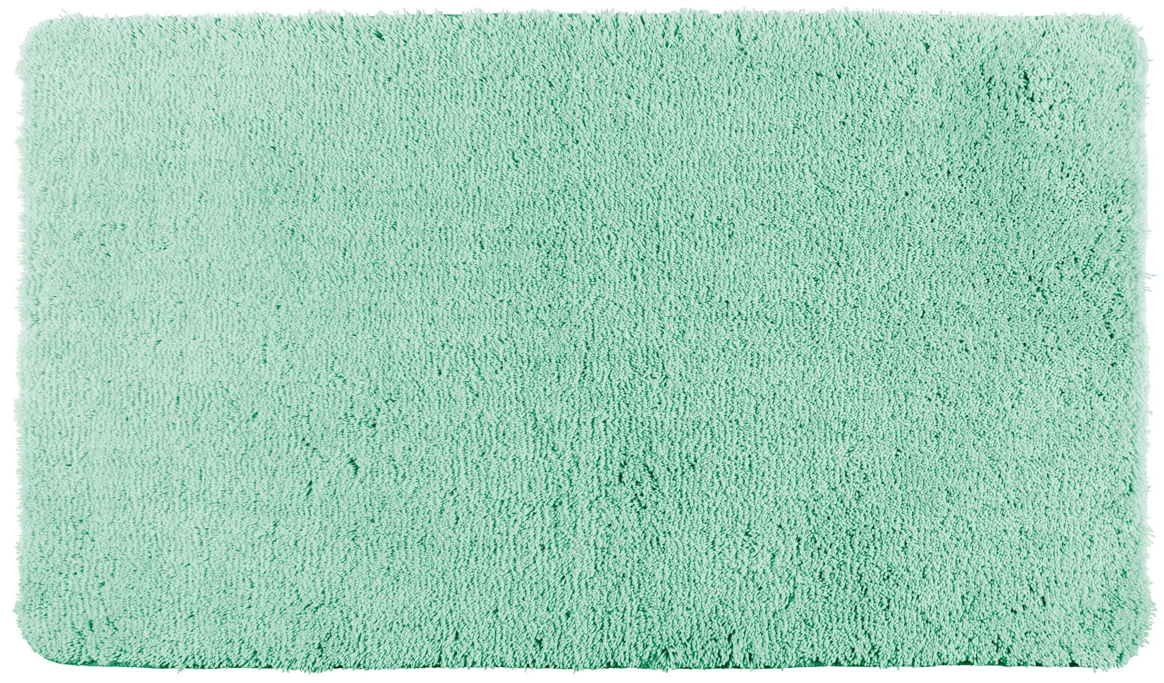 Wenko Badteppich Belize Turquoise, 55 x 65 cm, Mikrofaser