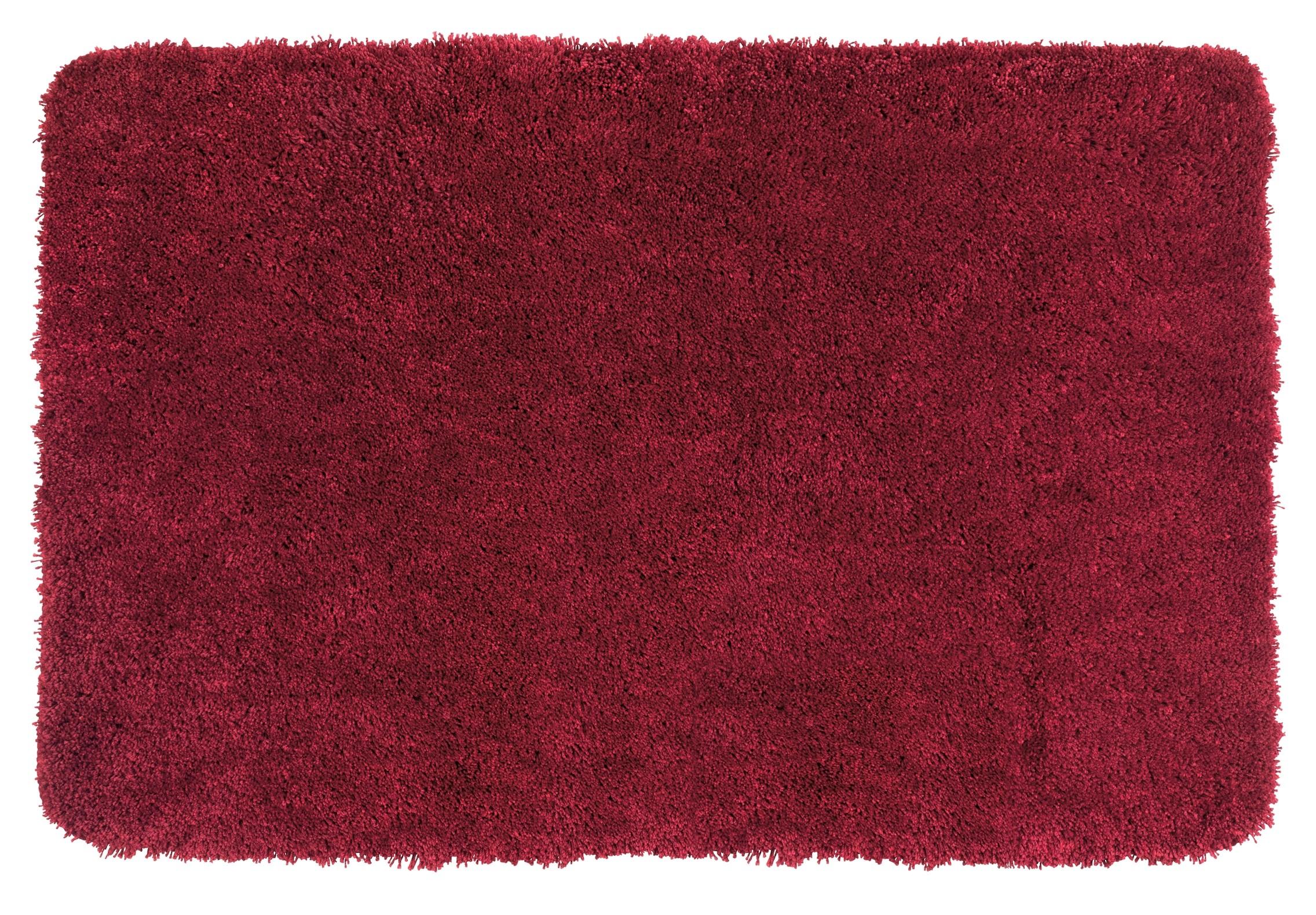 Wenko Badteppich Mélange Chili, 60 x 90 cm, Mikrofaser