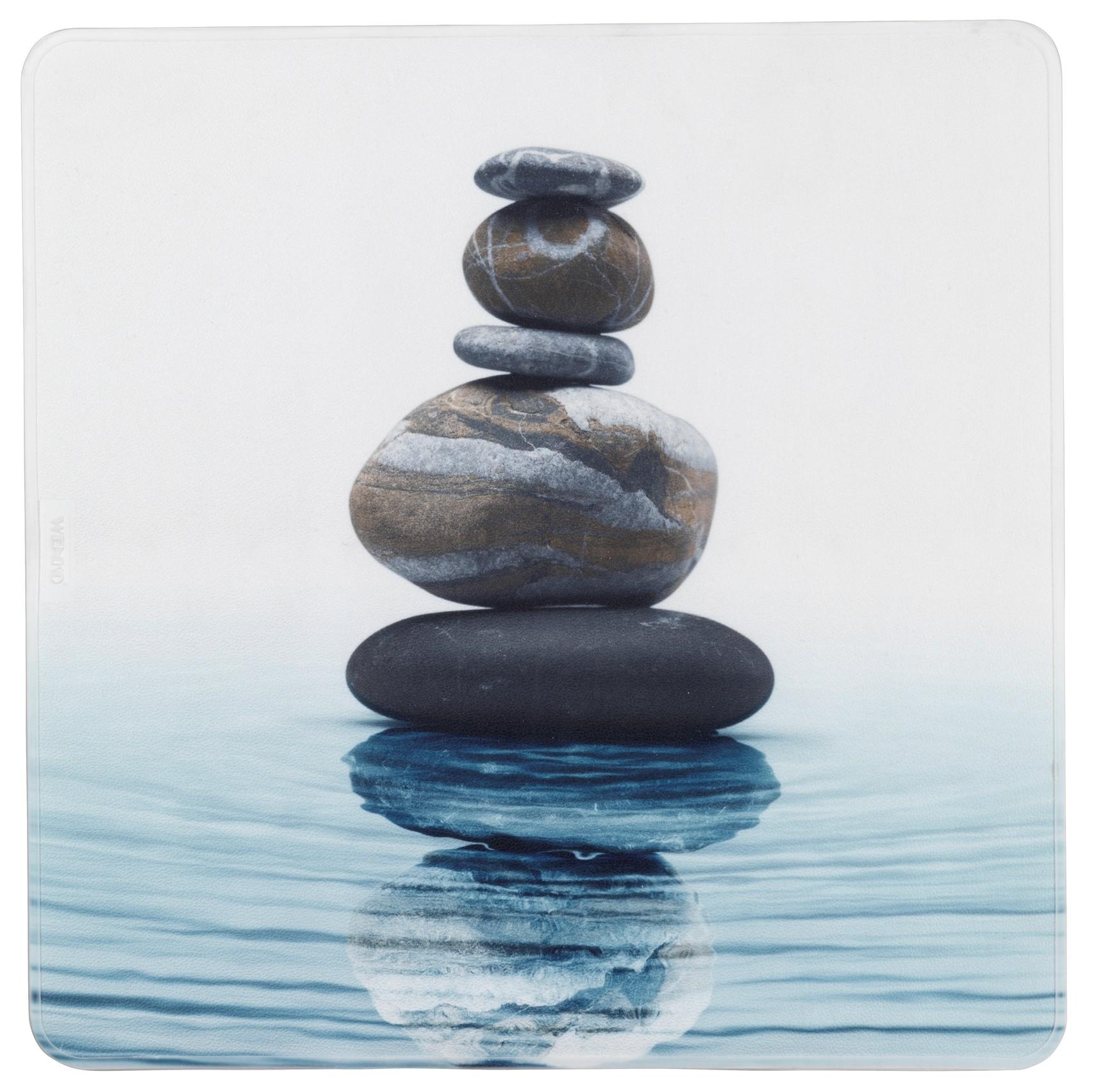 Wenko Duscheinlage Meditation 54x54 cm, 54 x 54 cm