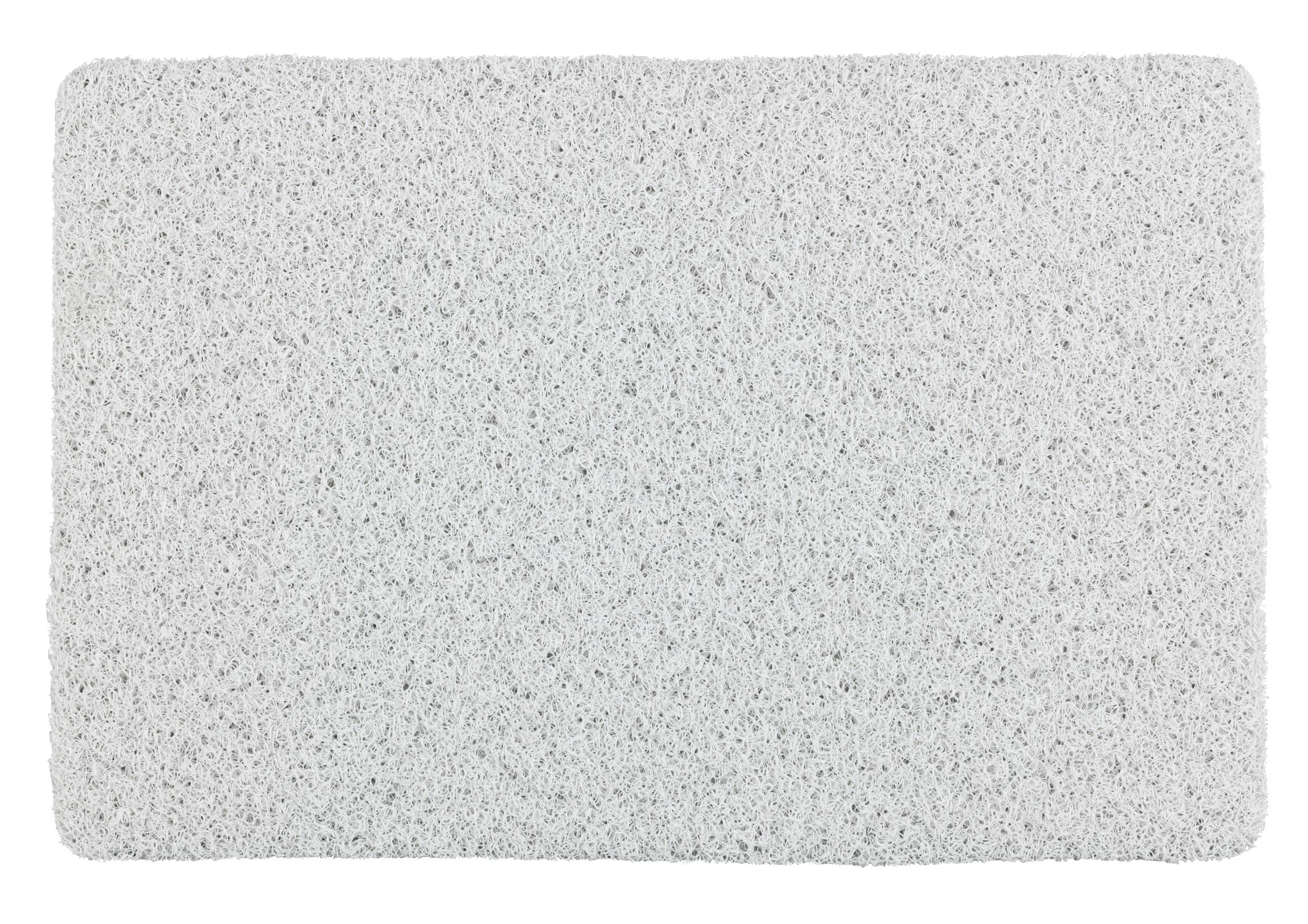 Wenko Badematte Loop Indoor & Outdoor Weiß, 40 x 60 cm