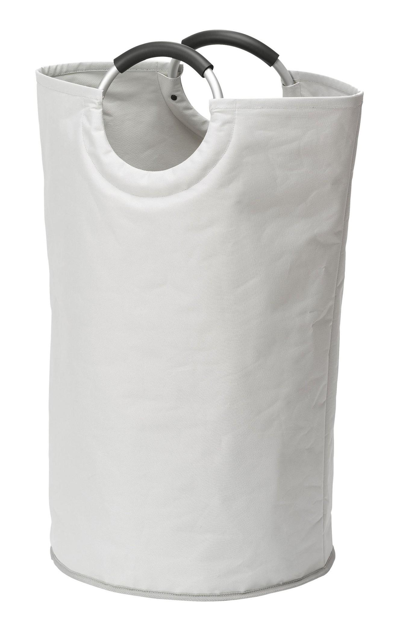 Wenko Wäschesammler Jumbo Stone, Multifunktionstasche, 69 l