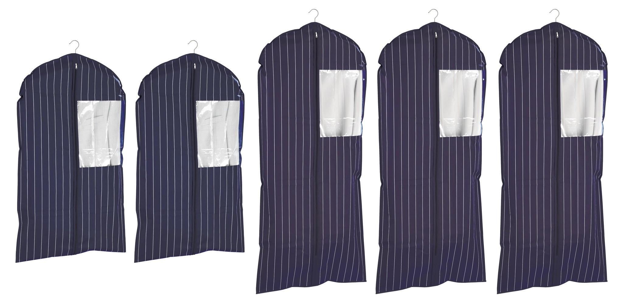 Wenko Kleidersack Comfort, 5er Set in 2 Größen