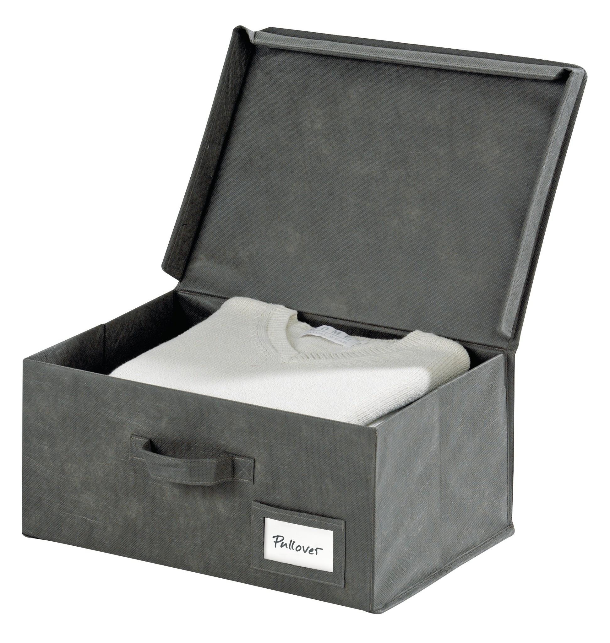 Aufbewahrungsbox Libertà, 4er Set, je 45 x 33 x 20 cm