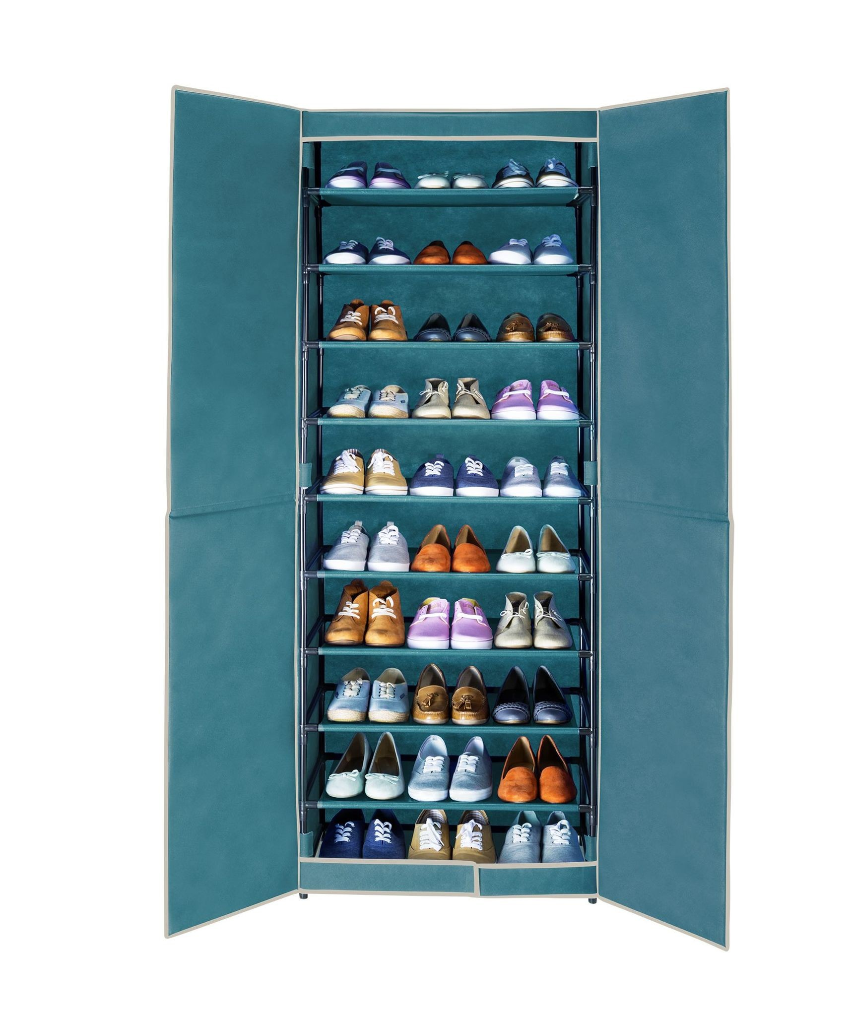Schuhschrank Breeze, für bis zu 30 Paar Schuhe