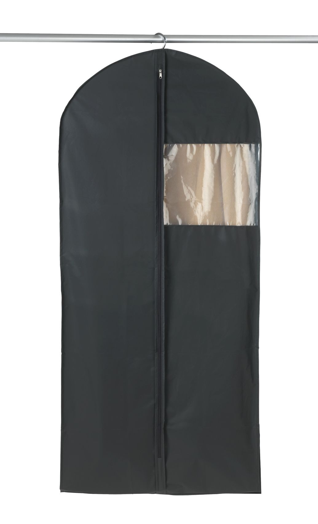 Wenko Kleidersack Deep Black Space, 3er Set, je 135x60x12 cm