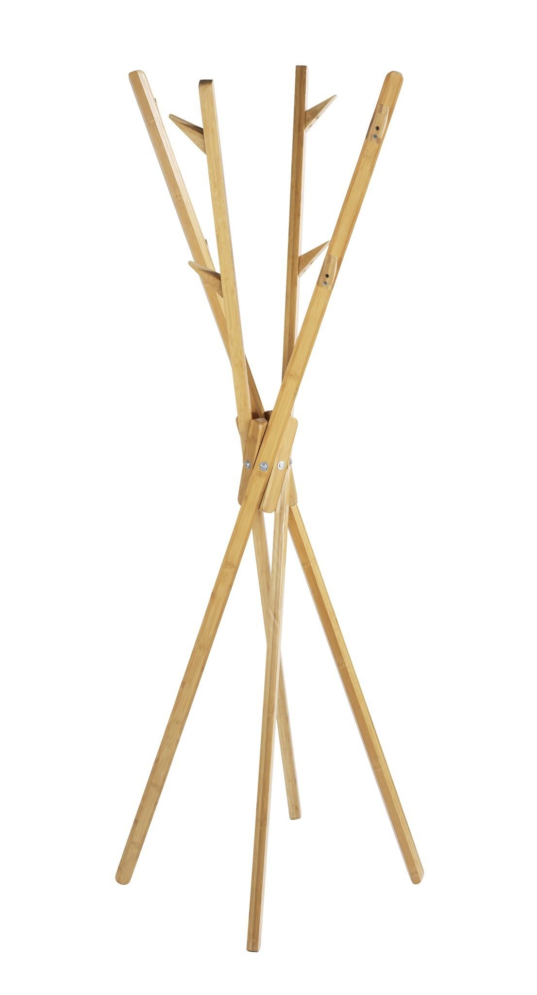 Wenko Standgarderobe Mikado aus Bambus