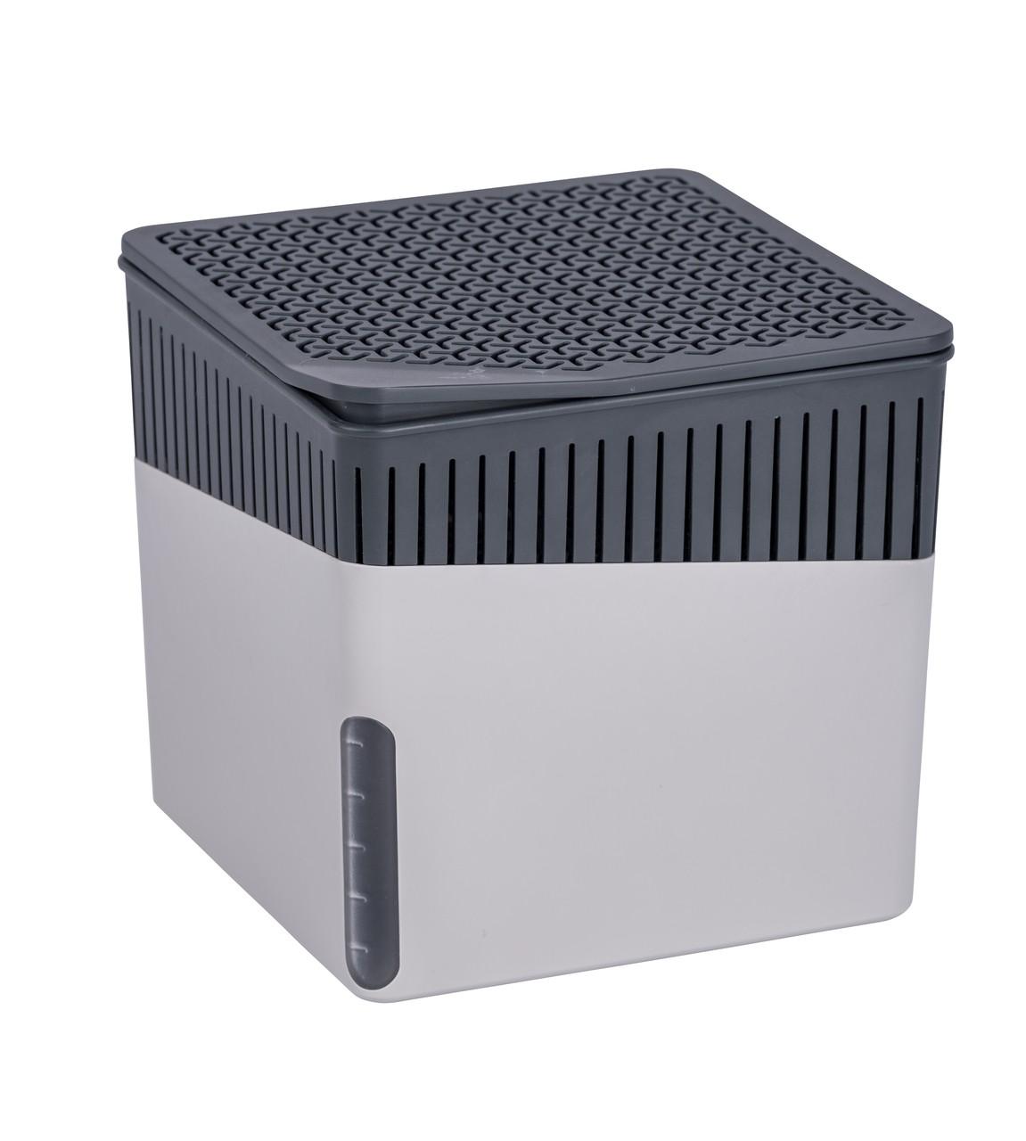 Wenko Raumentfeuchter Cube Grau 1000 g