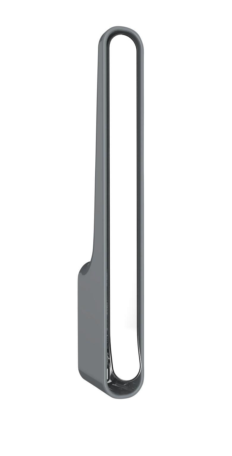 Wenko Klapphaken Premium Omega Stahlgrau